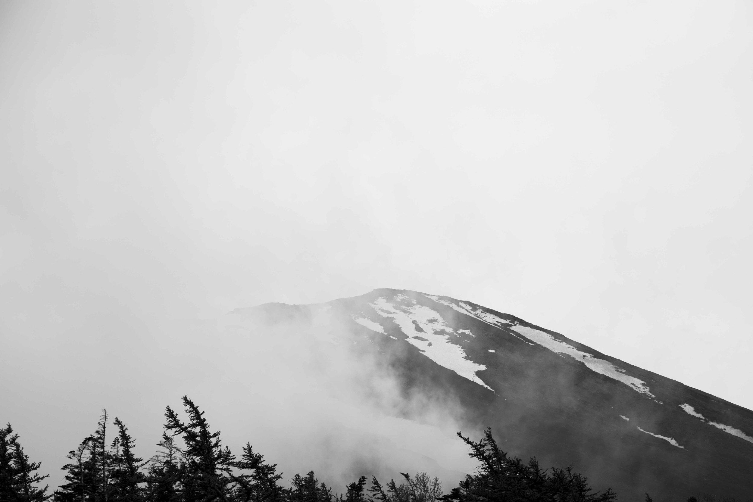Foggy Fuji