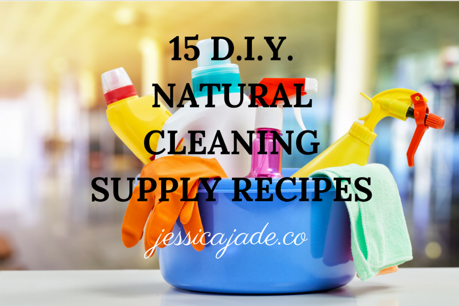 Natural Cleaning Supply Recipe