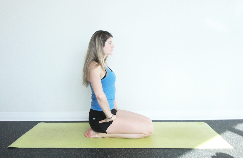 Diamond Pose Yoga Digestion
