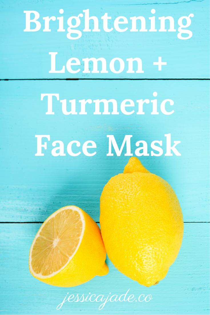 Lemon Turmeric Face Mask