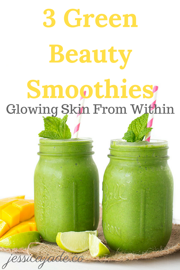 3 Green Beauty Smoothies