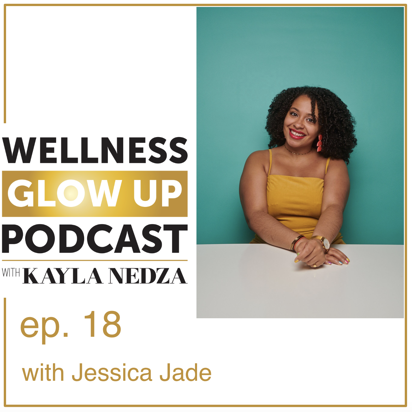 Wellness Glow Up Podcast - In this episode, Kayla talks to Jessica Jade, wellness coach, speaker, and writer.Jessica Jade empowers women to carve time for self-care that aligns with their feminine health! She empowerswomen of colorto carve time for self-care and embrace their feminine health. Lastly, by following in the footsteps of generations of women in her family, she crafts an organic skincare line, SunKiss Organics,that is rooted in tradition & nourishing for all!