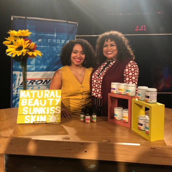 BronxNet Interview with Rhina Valentin of OPEN! - In this interview Jessica Jade goes deep into the origin story of SunKiss Organics, how it healed her eczema and how it's rooted in tradition and recipes passed down by her great-grand mother.