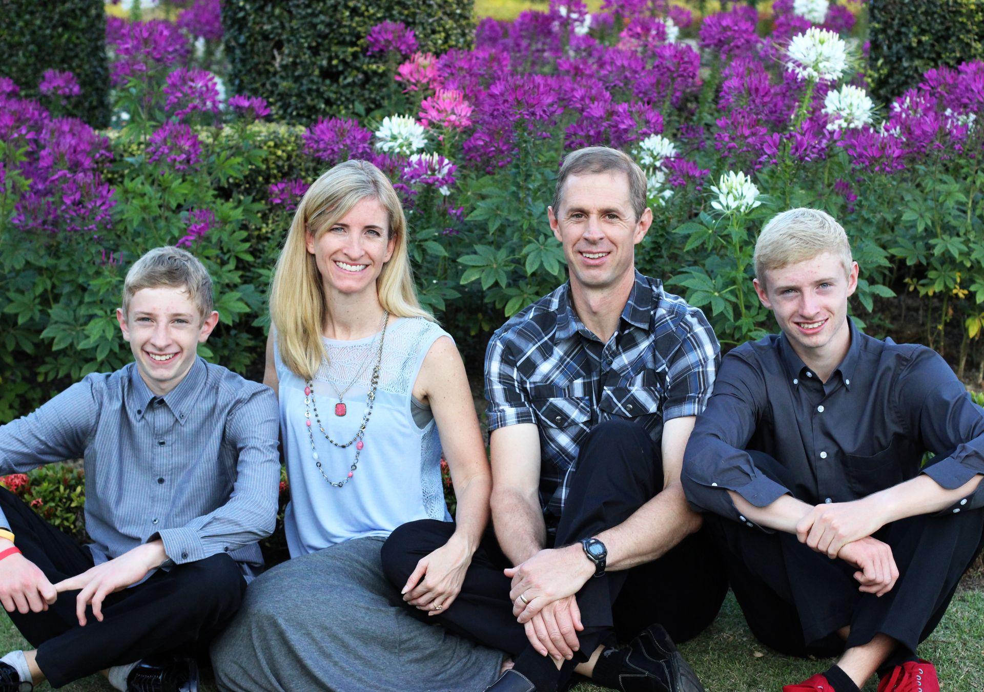 Ryan, Rebecca, Tyler and caleb - April 2015