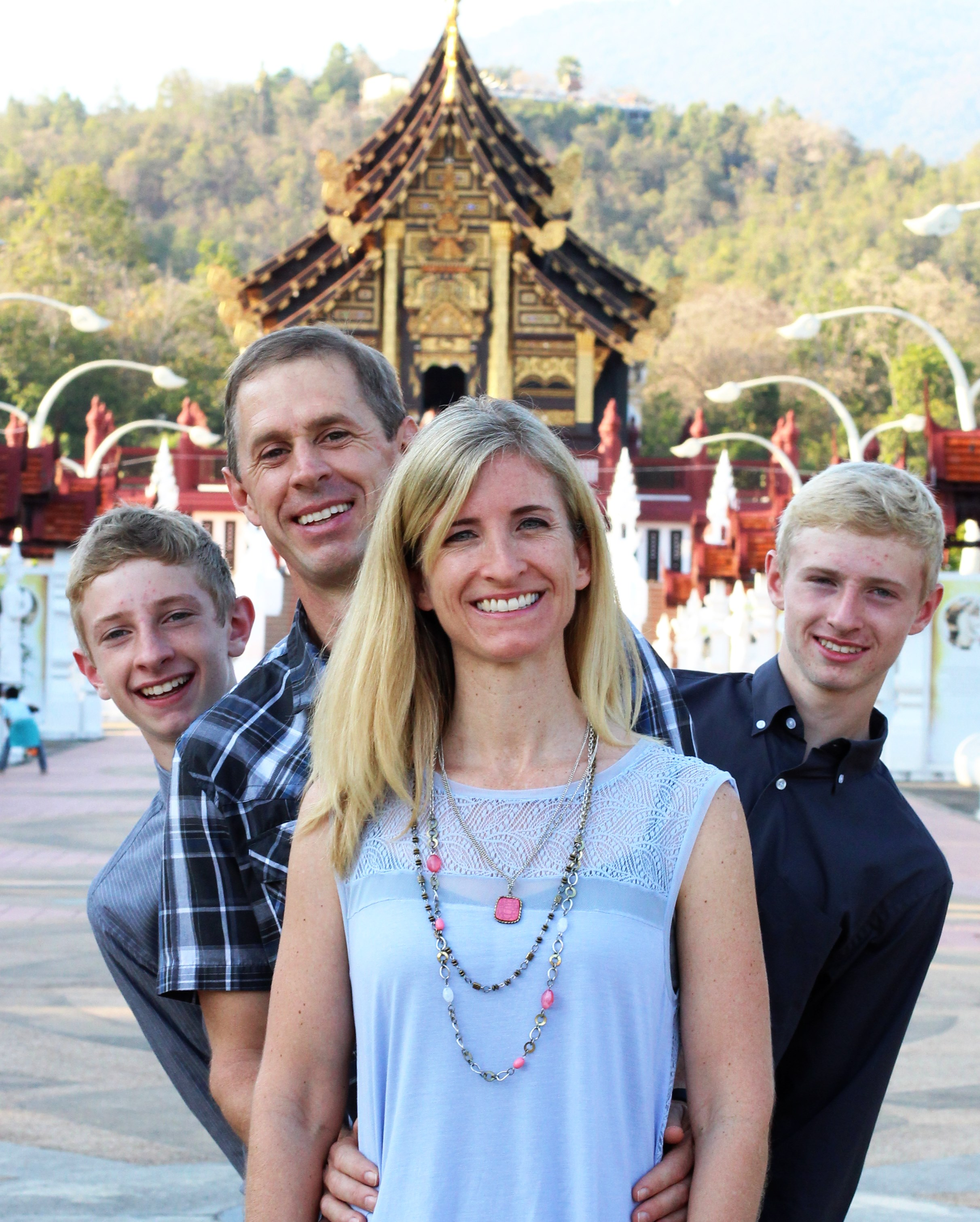 Ryan and Rebecca Stowell - Thailand