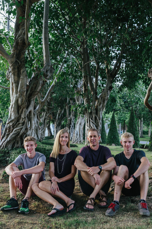 Ryan, Rebecca, Tyler and caleb - Fall 2016