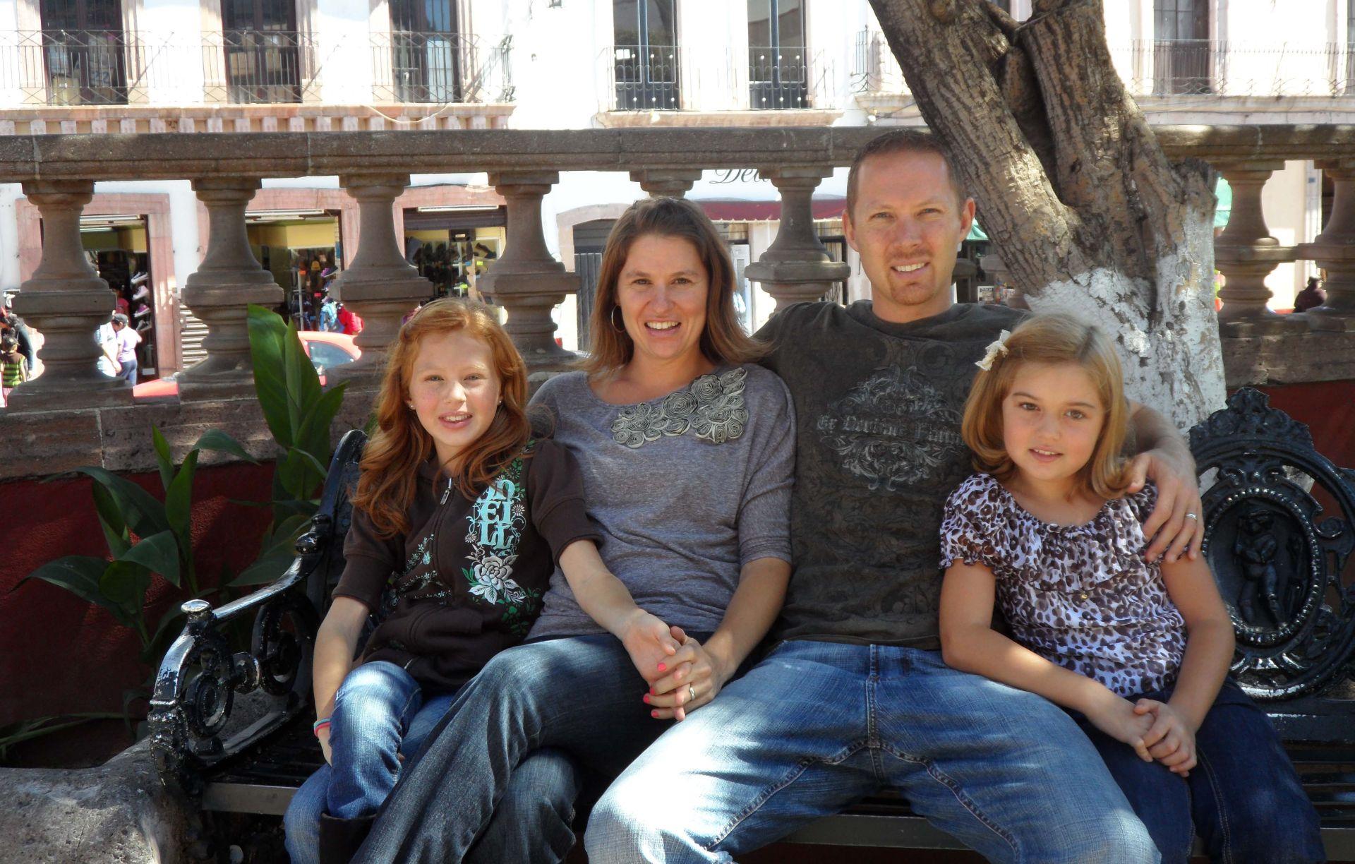 Josh, Heather, hattie & grace - January 2014
