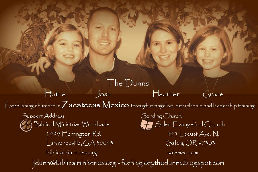 Josh, heather, hattie & grace - Prayer Card