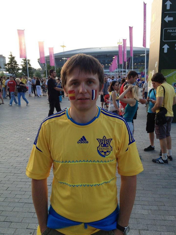 Sasha at Euro 2012