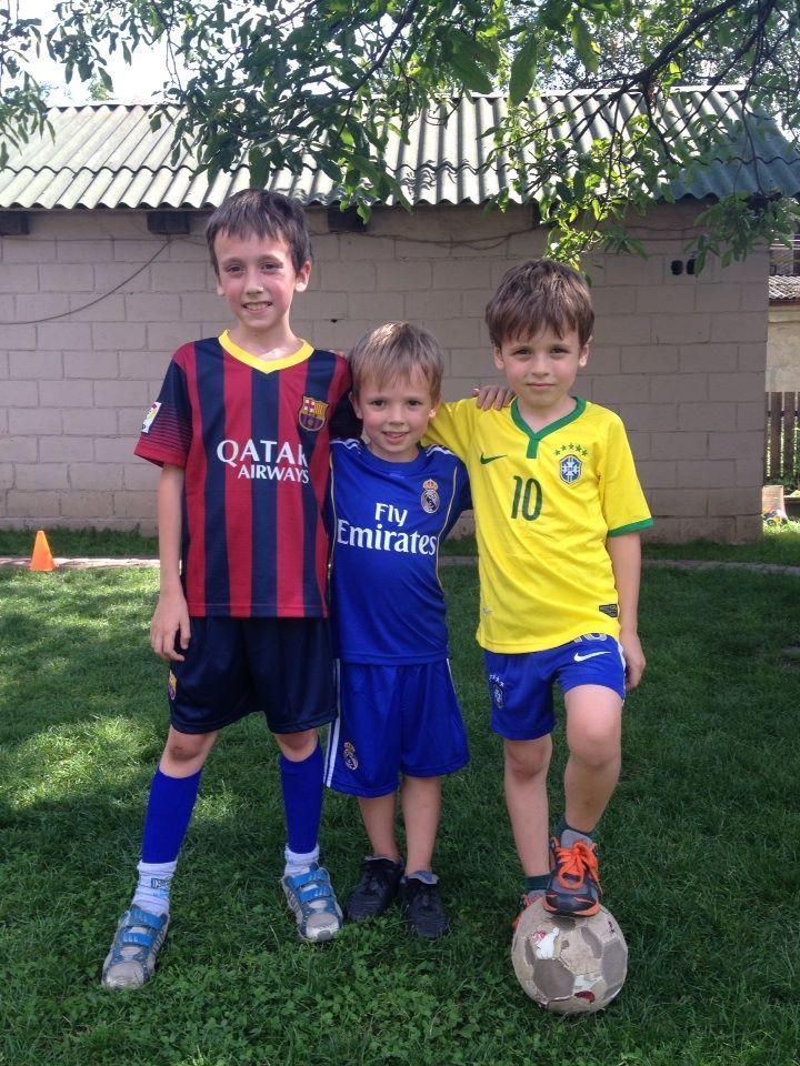 Zibarov soccer team - Aug 2014