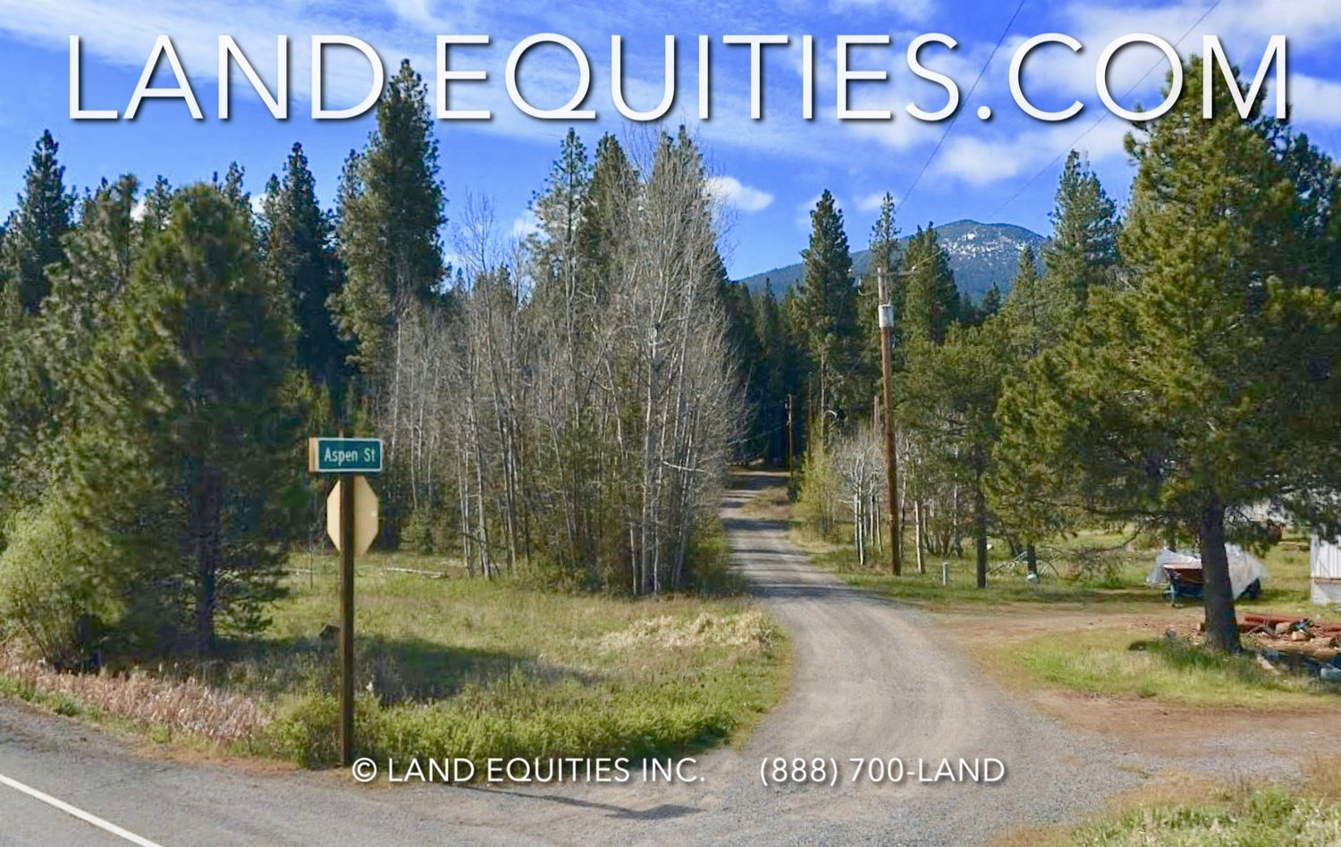 LAND EQUITIES — BEAUTIFUL 1 91 ACRE PROPERTY SURROUNDED BY NATIONAL FOREST  AND LAKES, HWY 140 ROCKY POINT, OR