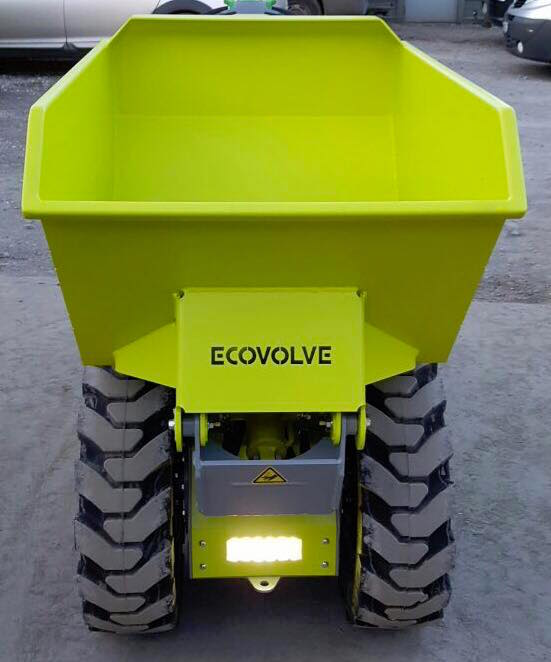 ECOVOLVE ED800 ELECTRIC DUMP CART Head On View