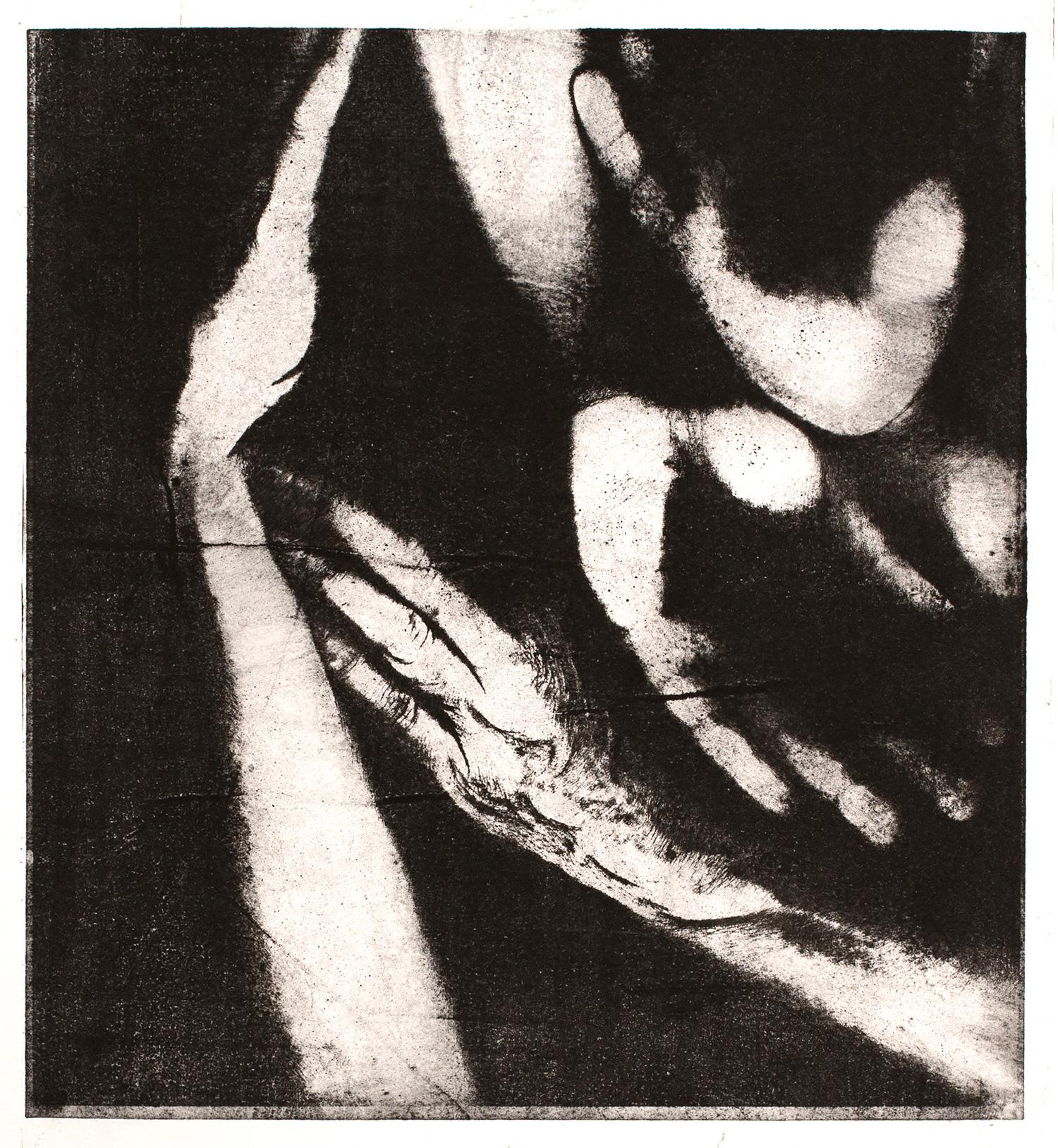 Study I , 2016, paper lithograph on Fabriano Artistico 300 gsm, 42 x 29.7 cm