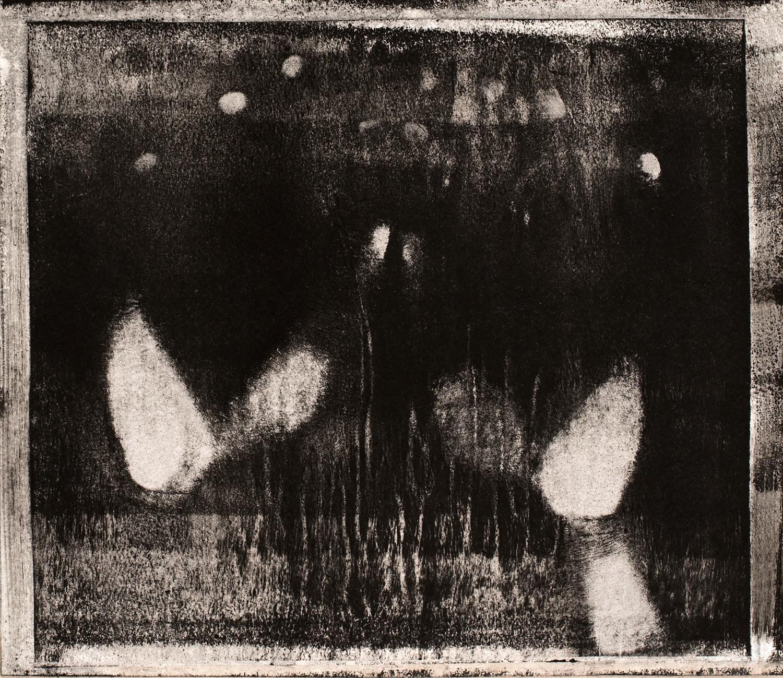 Study VIII , 2016, paper lithograph on Fabriano Artistico 300 gsm, 42 x 29.7 cm