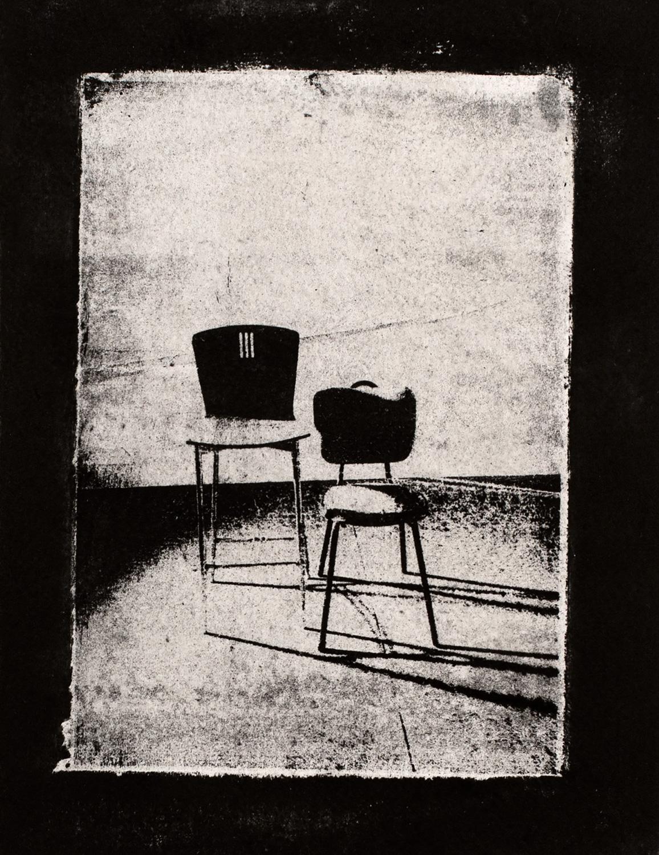 Chairs VI , 2016, paper lithograph on Fabriano Artistico 300 gsm, 42 x 29.7 cm