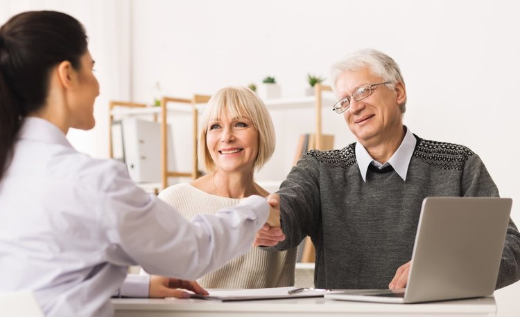 connect with a realtor to help you buy a house in retirement