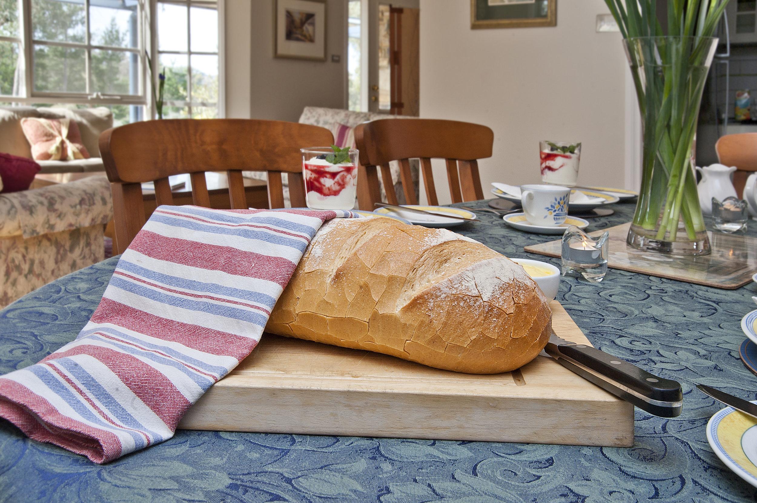 Breakfast in dining room.jpg