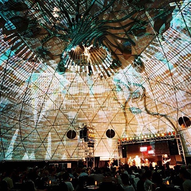 Dimension Spotlight - Illuminé by Derrick Planz: ————————————————Take time to explore an interactive projection dome under the night sky. Watch in awe as immersive visuals envelop your surroundings. ———————————————— To experience Illuminé by Derrick Planz visit our Dimensions Event on the 28th and 29th of September. Tickets via the link in our bio.