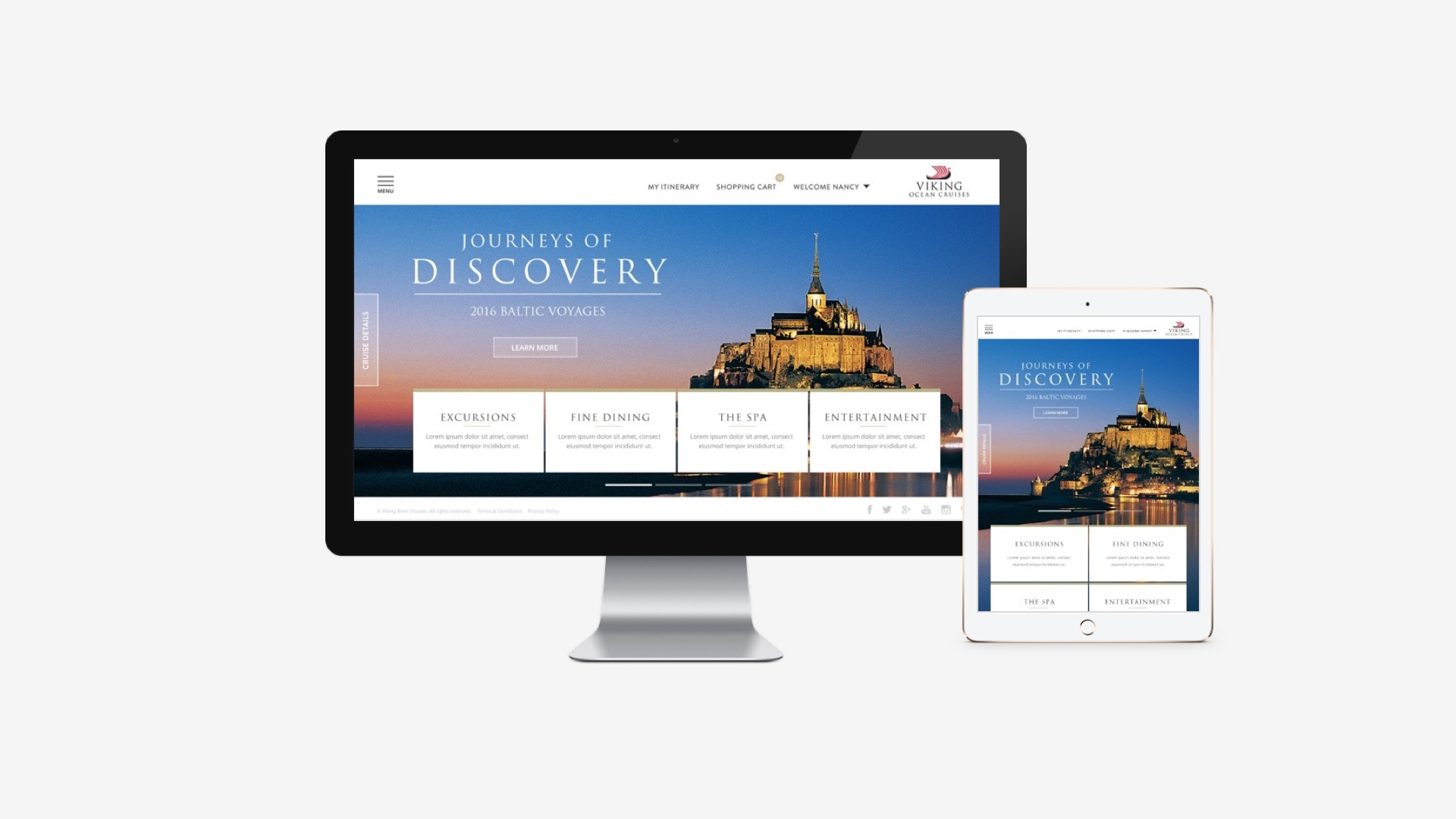 Viking Cruises: My Viking Journey Design