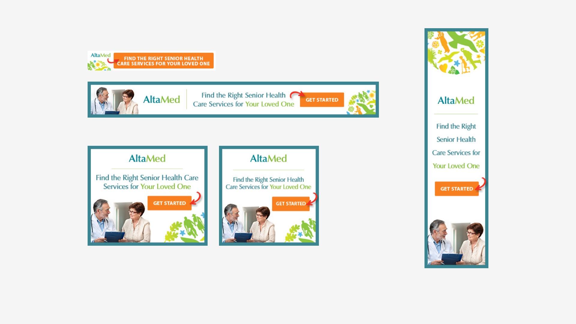 AltaMed: Banner Campaign