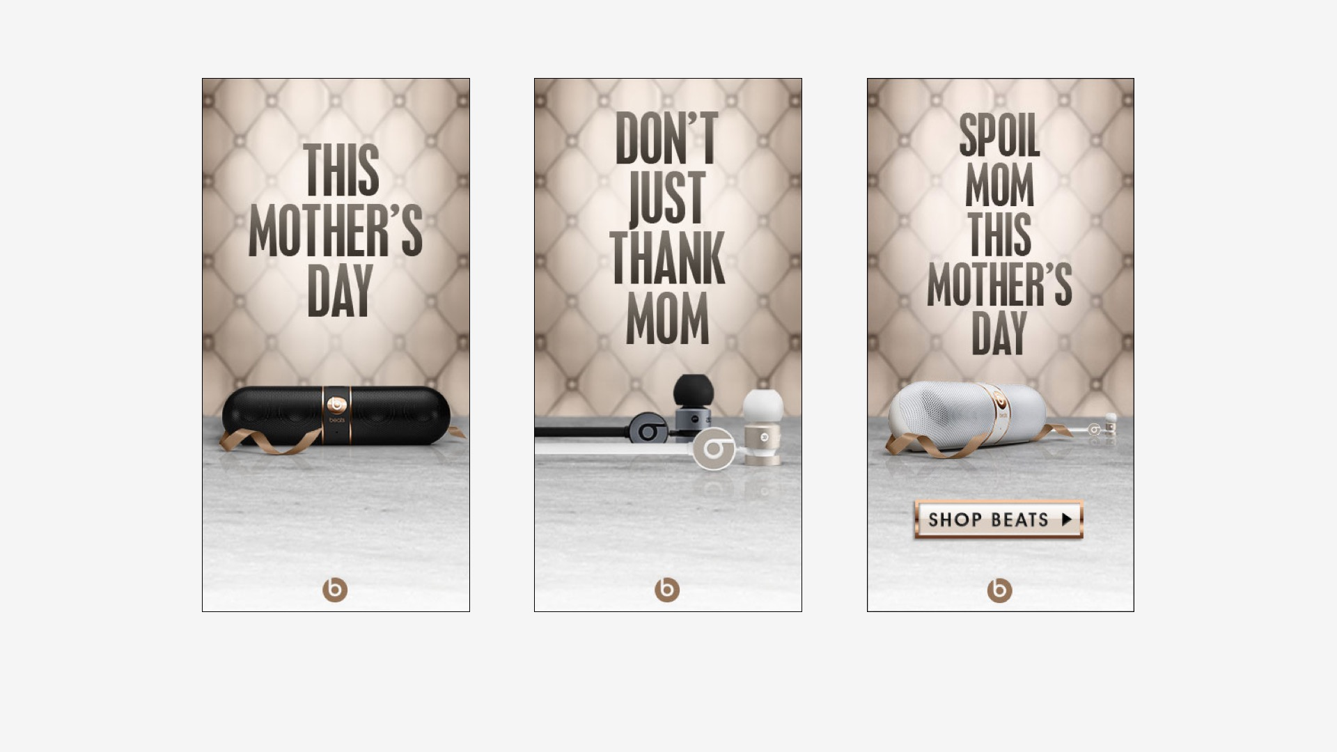 Beats Electronics: Mother's Day Campaign