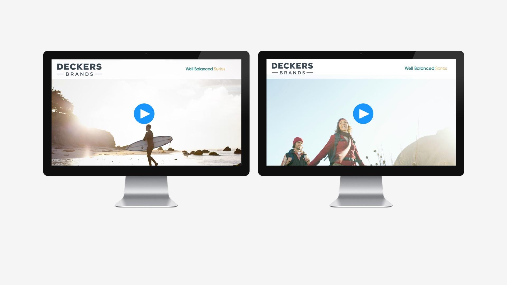 Deckers: Employee Benefit Videos