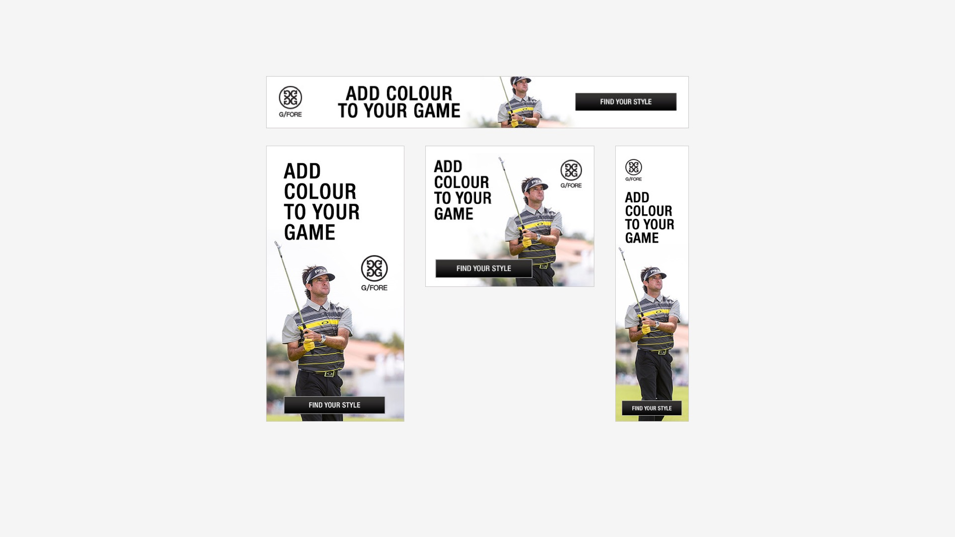 G/Fore: Web Banners