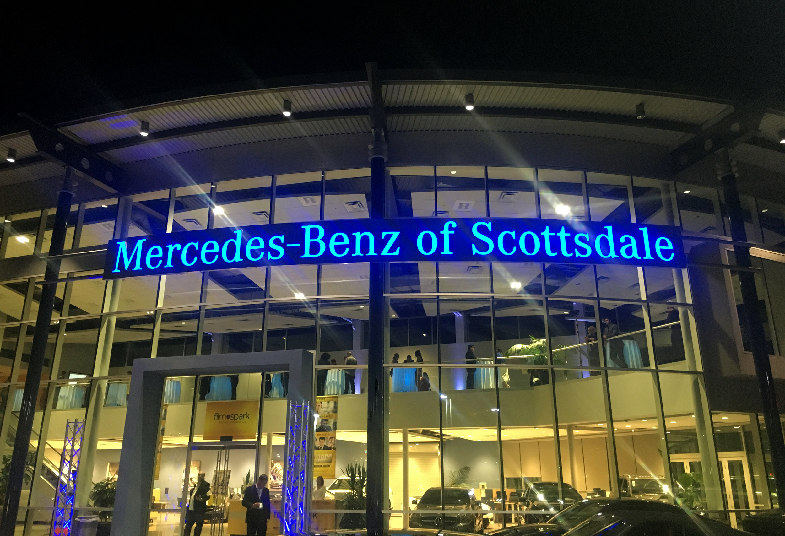 Car Dogs Premiere at  Mercedes Benz of Scottsdale