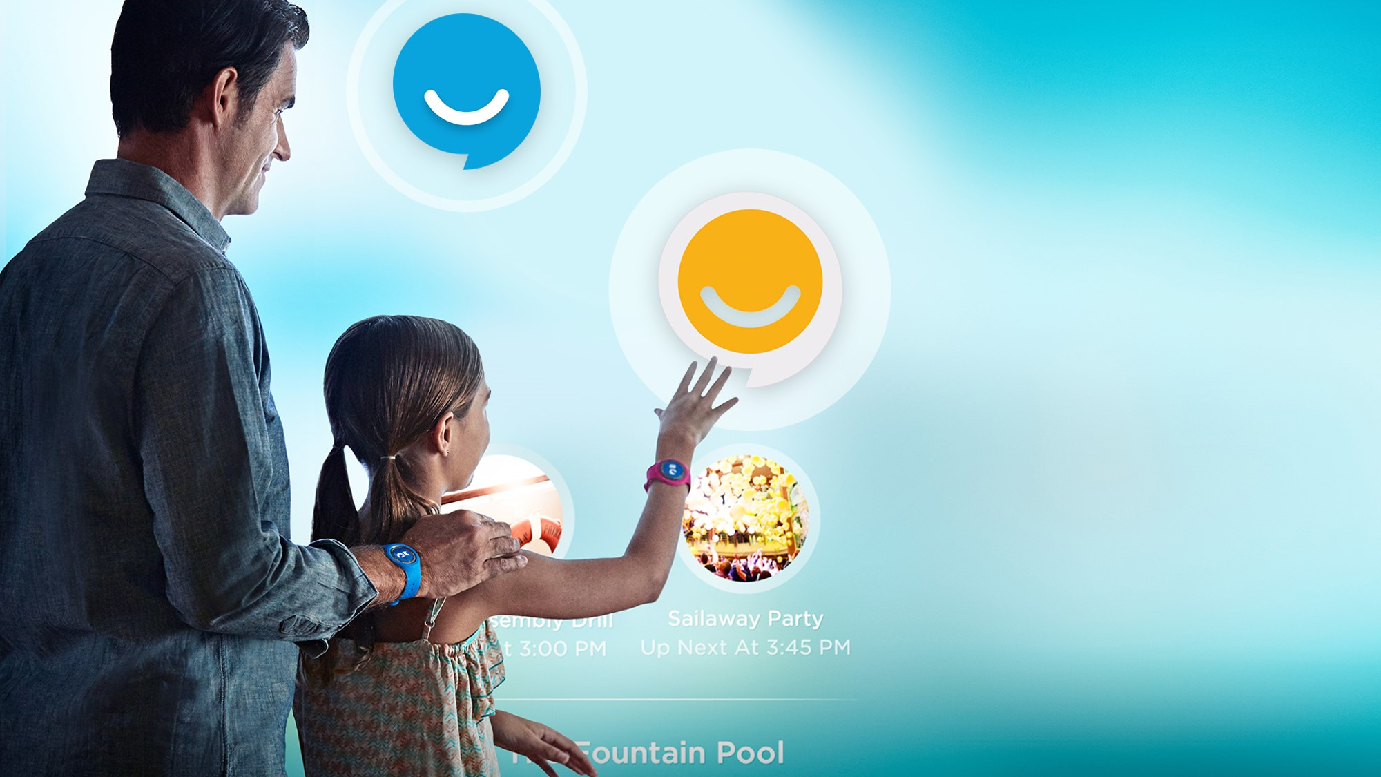 Happiness Project: Kiosk Medallion Interaction