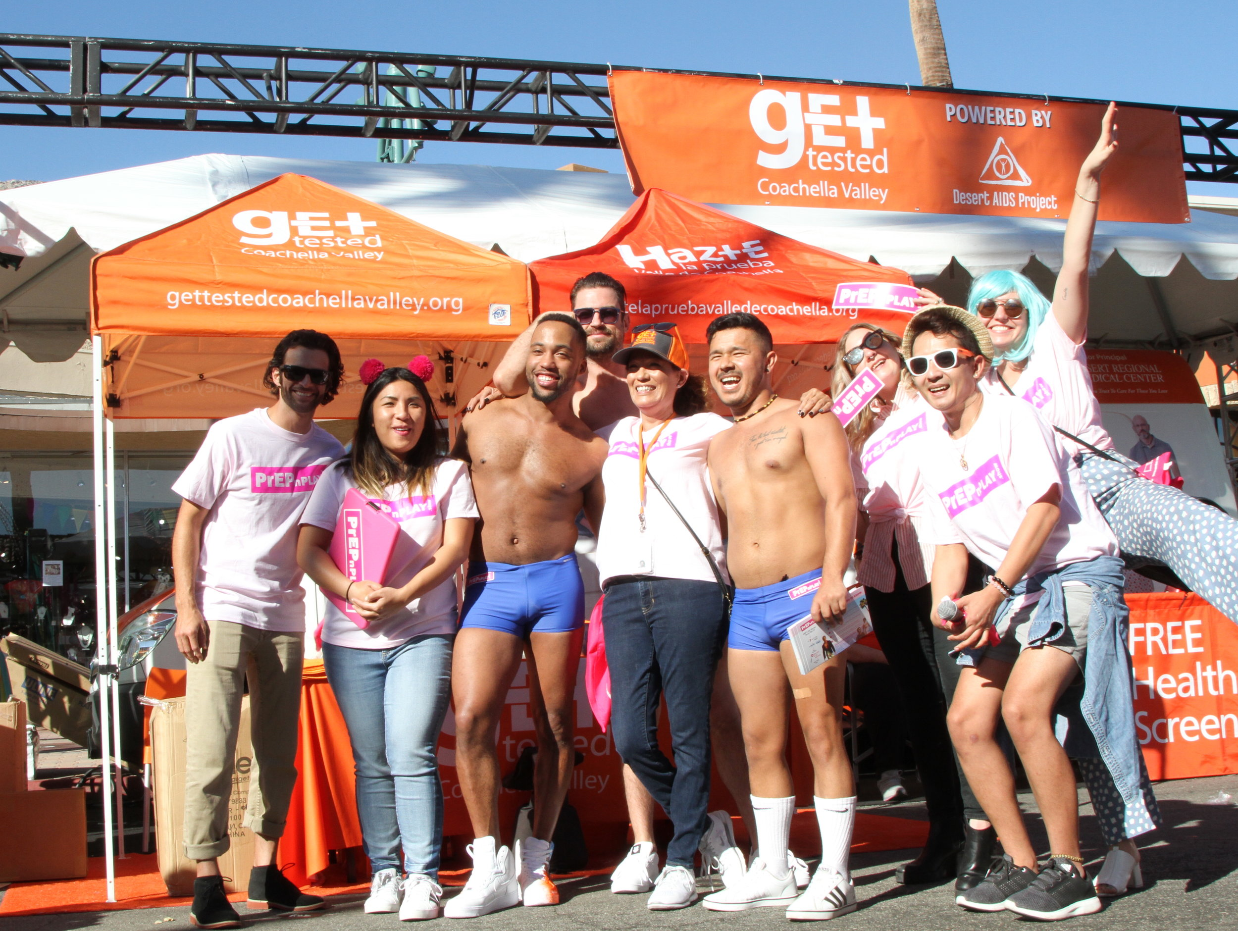 Community Outreach: Palm Springs Pride Event