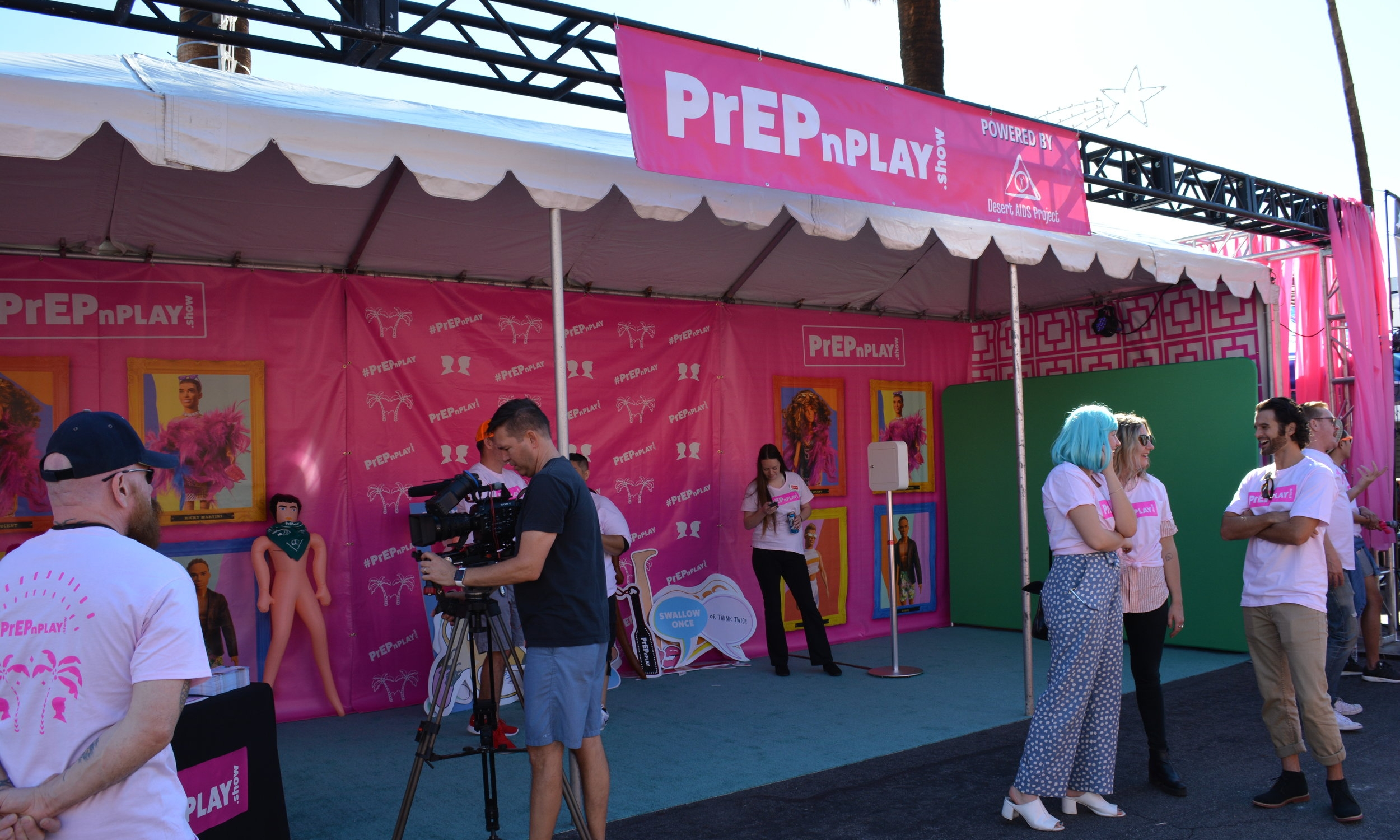 PrEP n' Play n' Pride    The Hydro team sets up shop at Gay Pride in Palm Springs and gets to work on promoting PrEPnPlay in the most fun way we can muster!