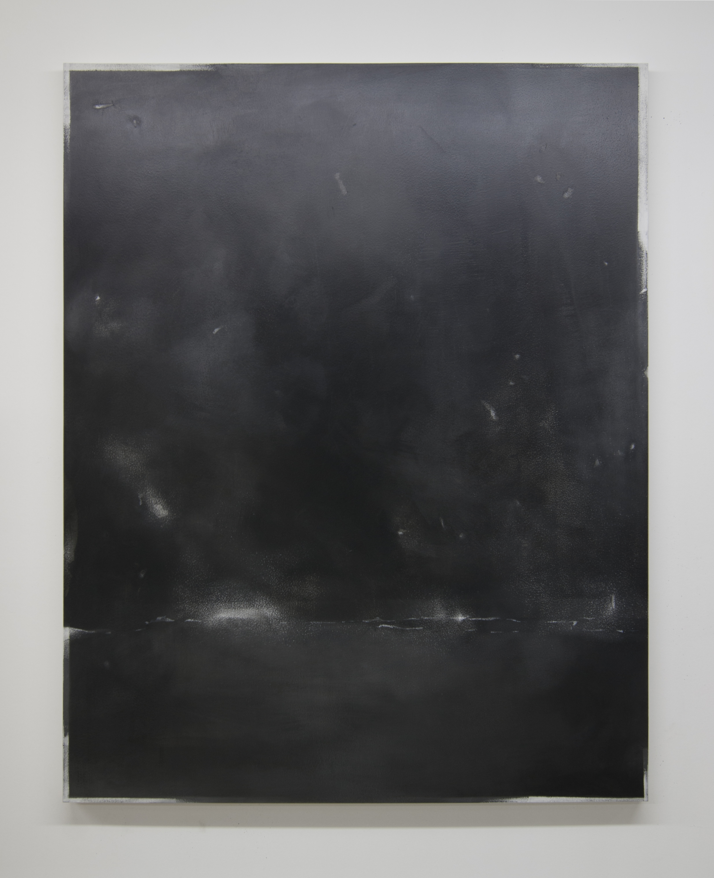 Effigy III 2015  Acrylic on panel, 56 x 44 inches