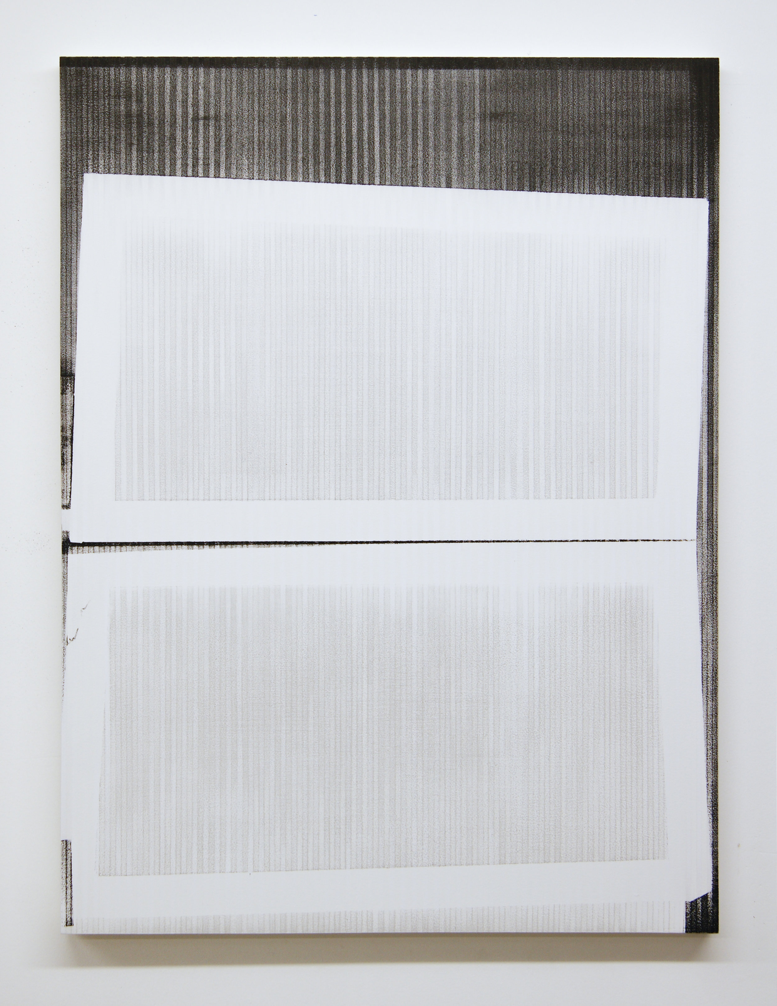 PHG2021, 2015  Acrylic on panel, 40 x 30 inches