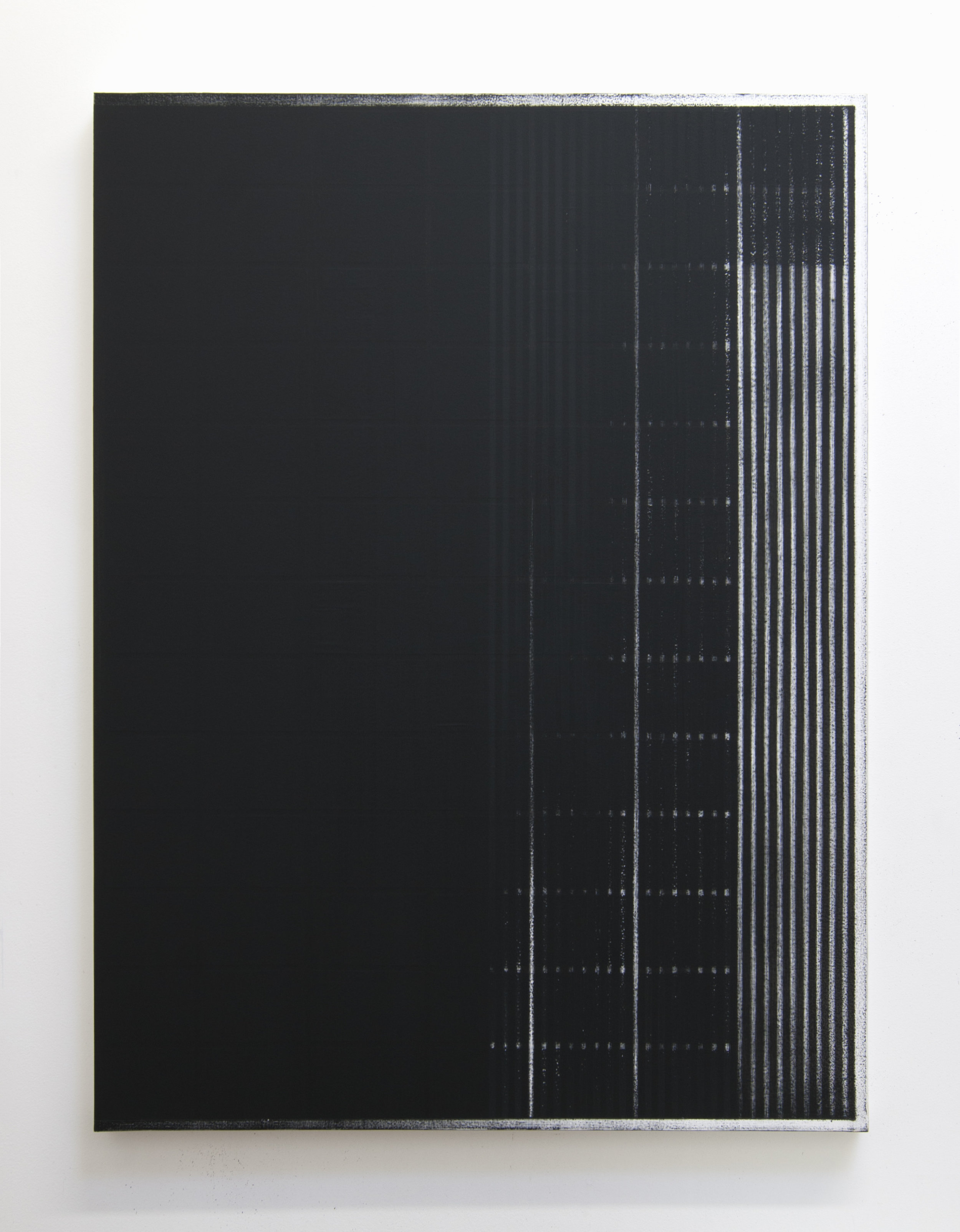RK8L11, 2015  Acrylic on panel, 40 x 30 inches