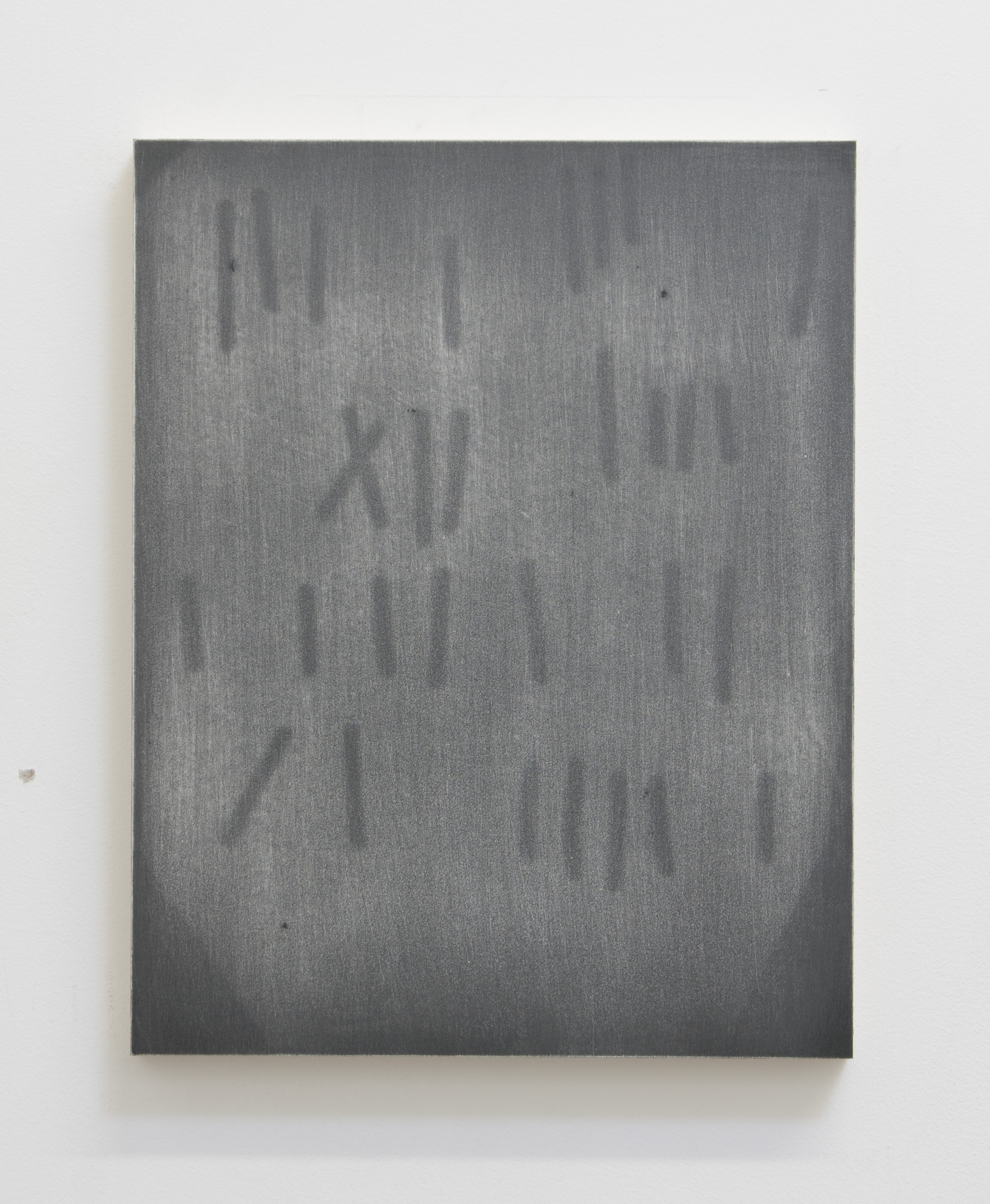 Thirty, 2015  Acrylic on panel, 14 x 11 inches