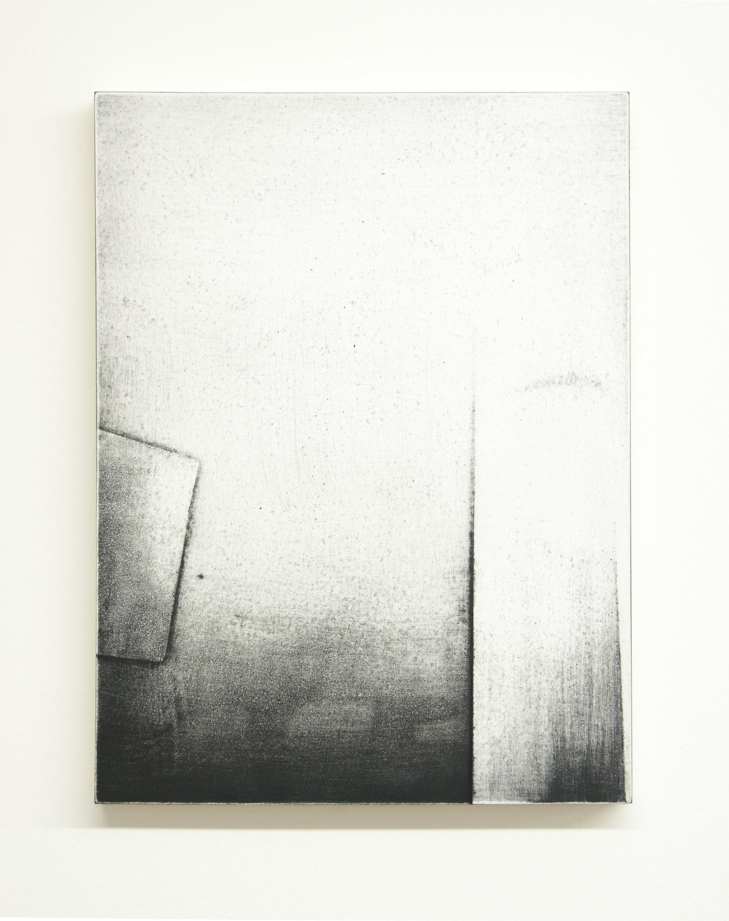 Threshold II, 2015  Acrylic on panel, 12 x 9 inches