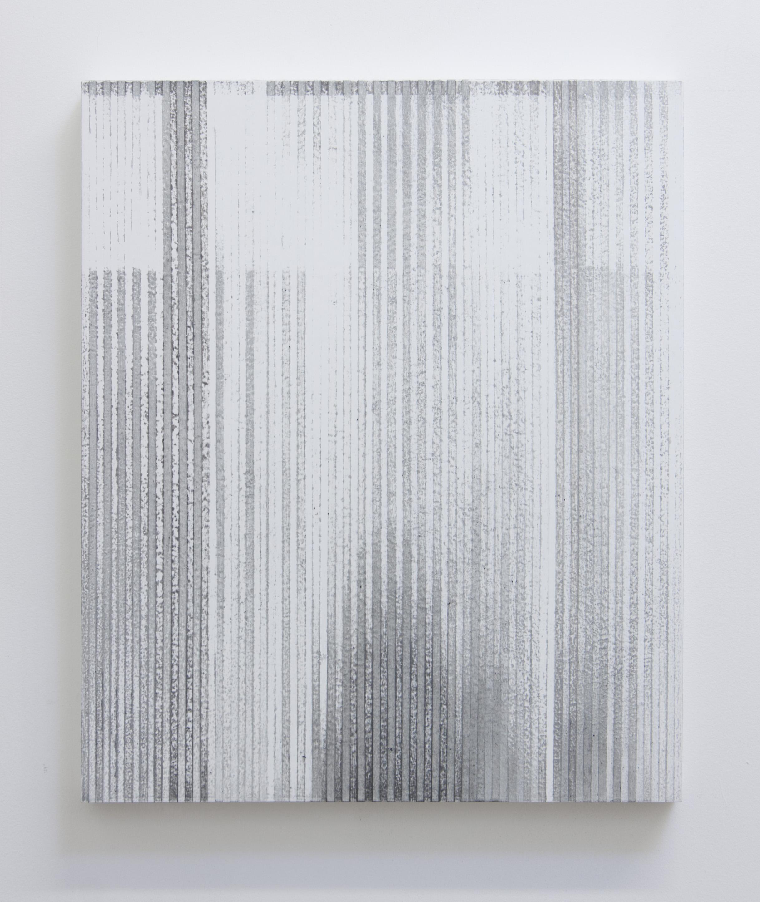 Bloodless Language II, 2014  Acrylic on panel, 24 x 20 inches