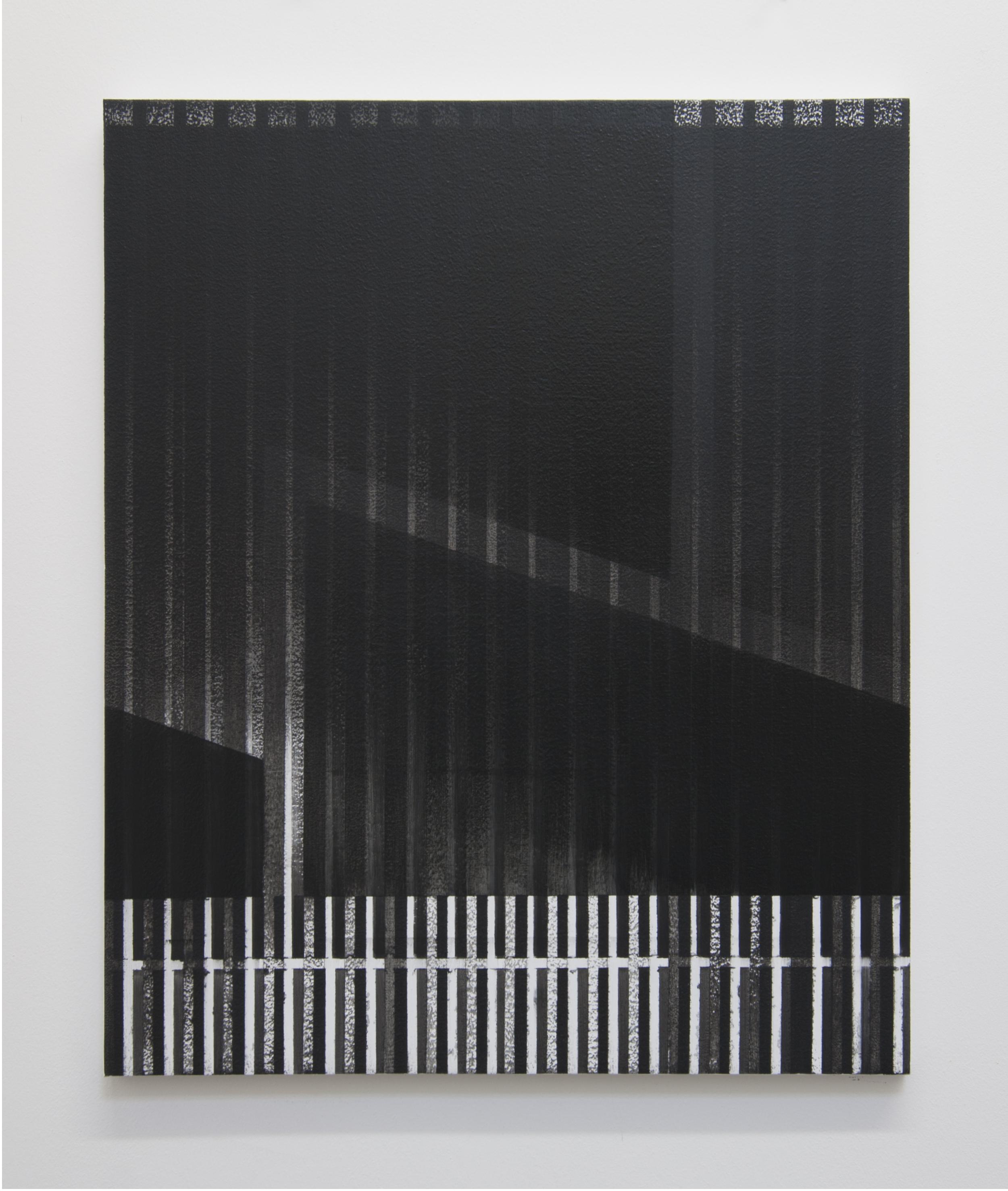 Facade, 2014  Acrylic on panel, 24 x 20 inches