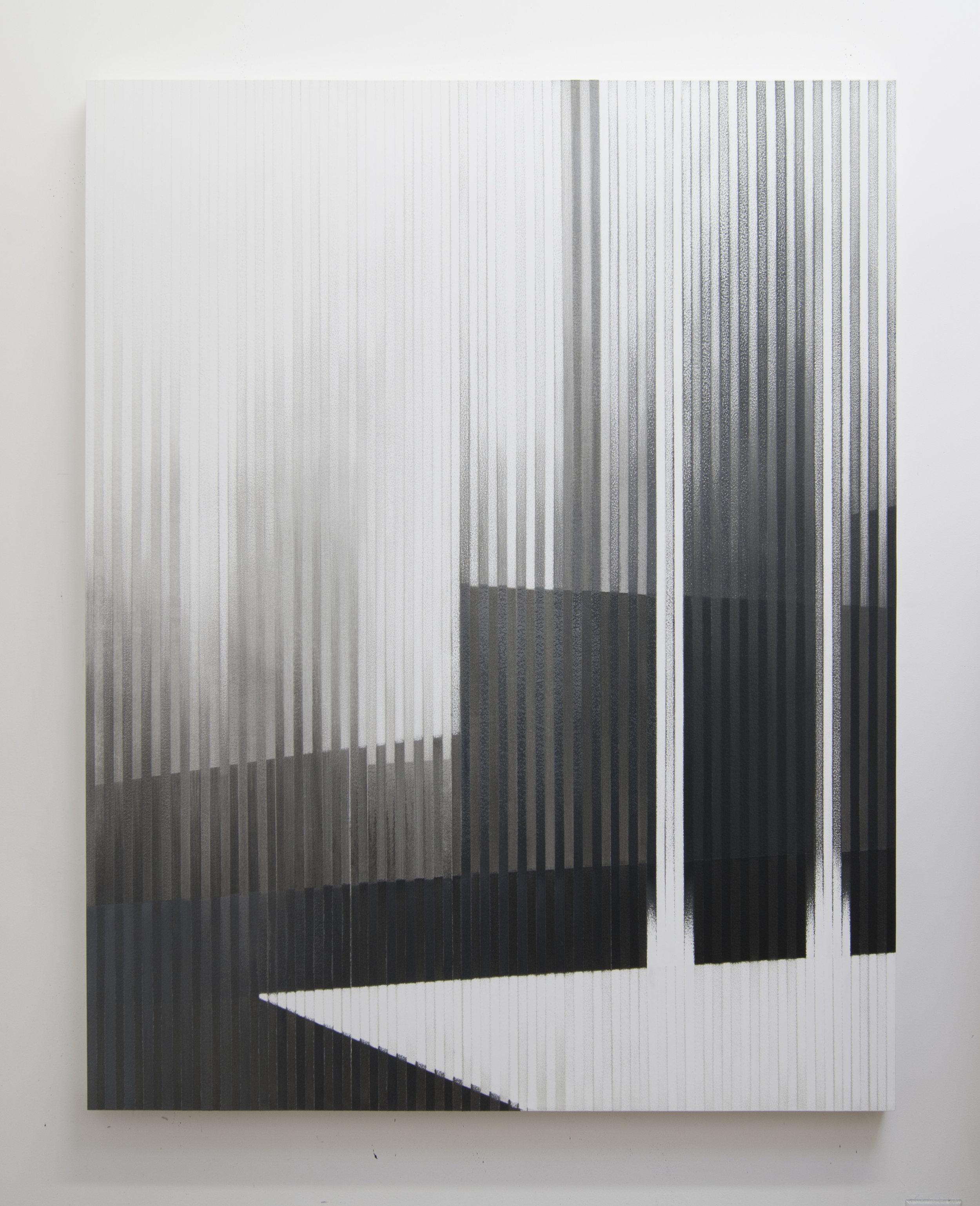Savage Arms III, 2014  Acrylic on panel, 56 x 44 inches