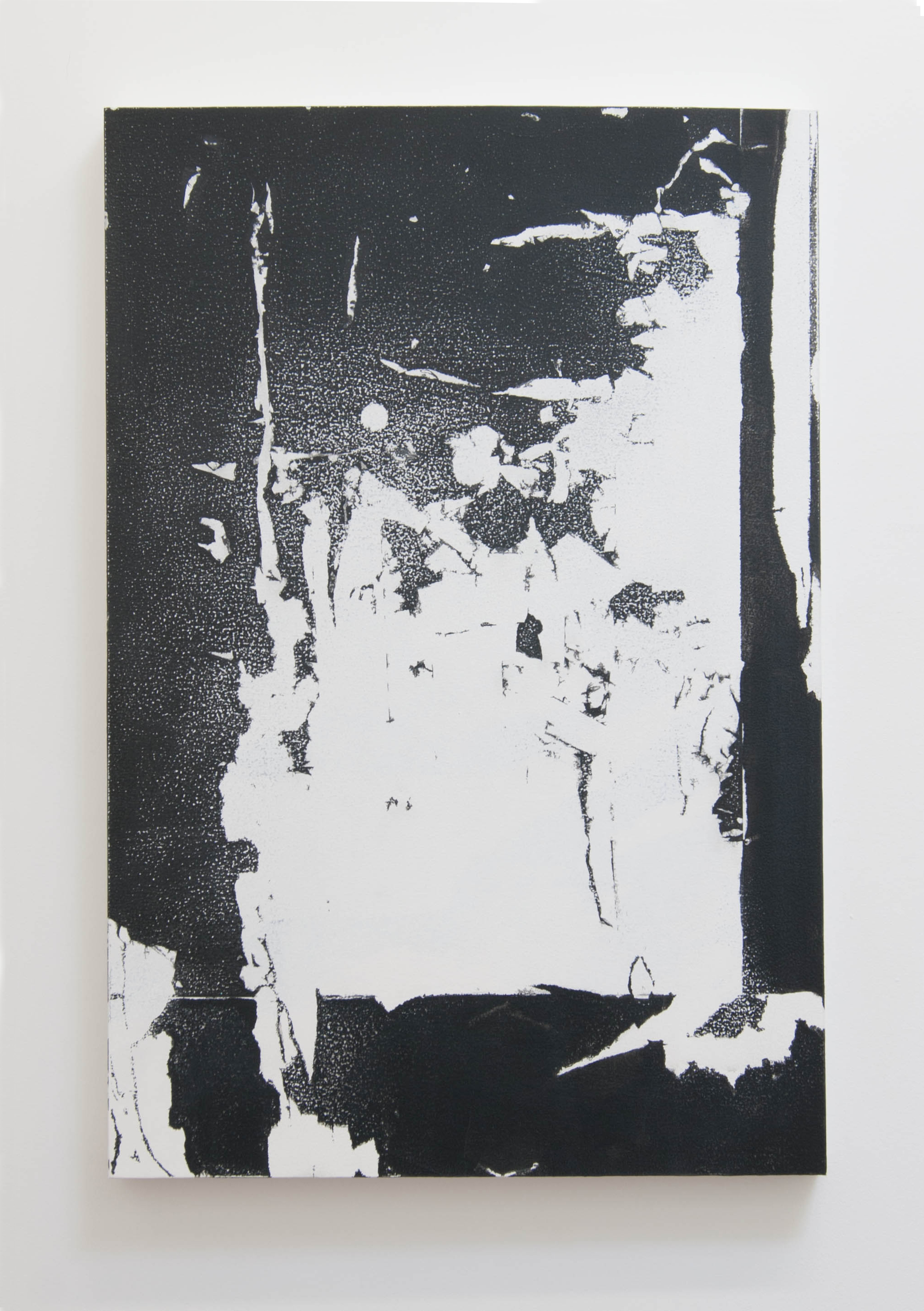 FTP, 2013  Acrylic on panel, 30 x 20 inches