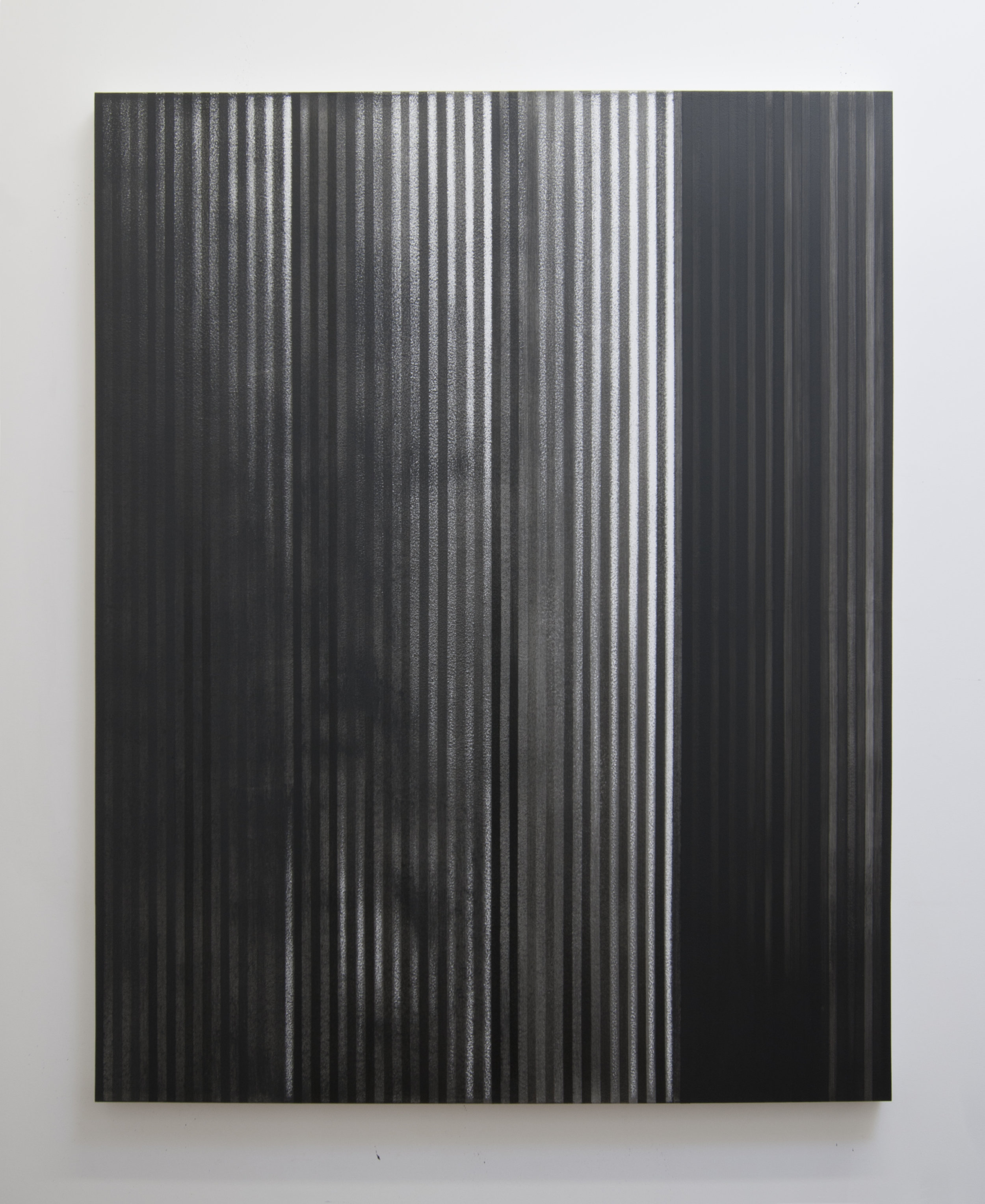 A Show of Force, 2013  Acrylic on panel, 56 x 44 inches