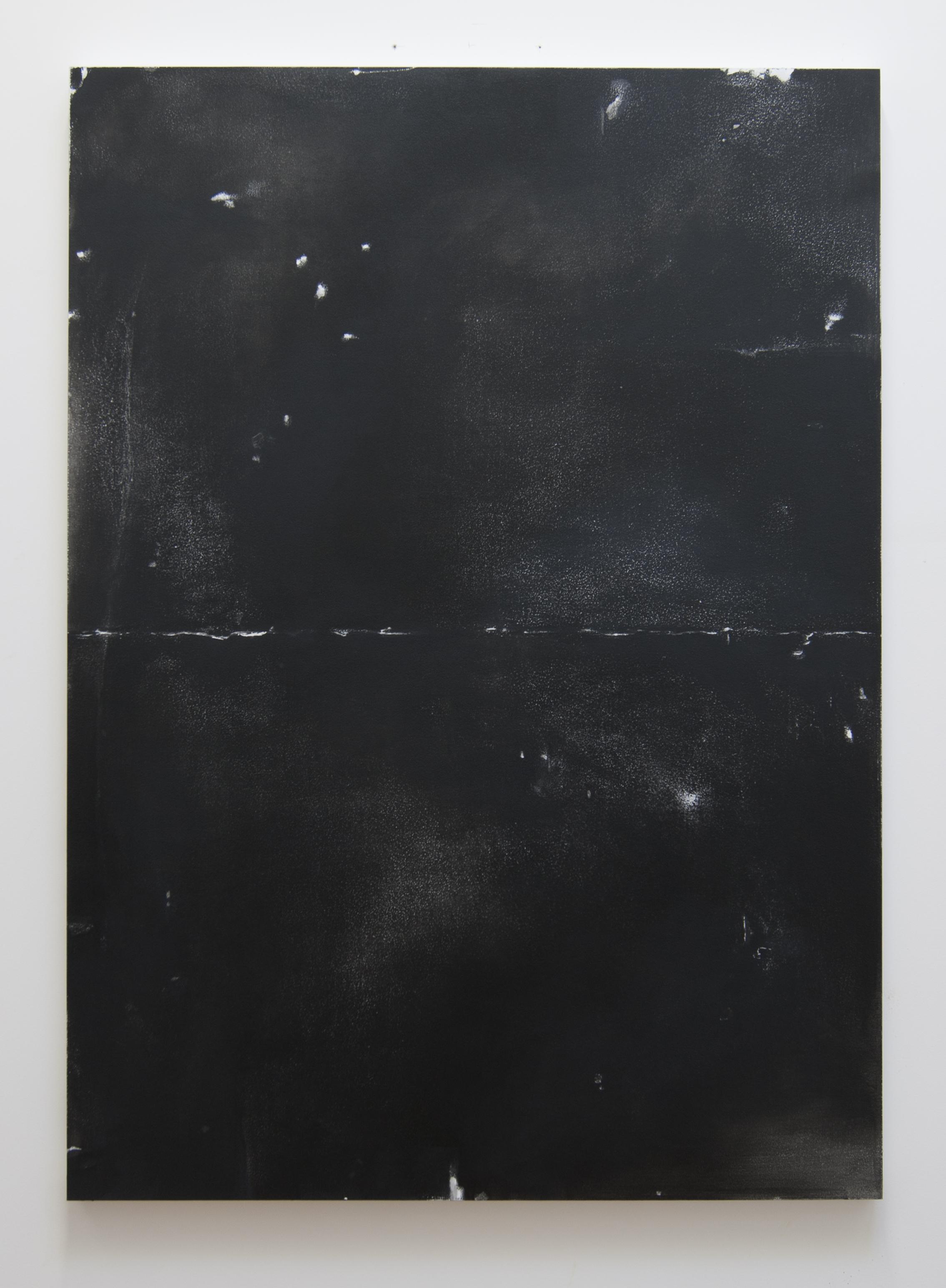 Effigy, 2012  Acrylic on panel, 51 x 37 inches