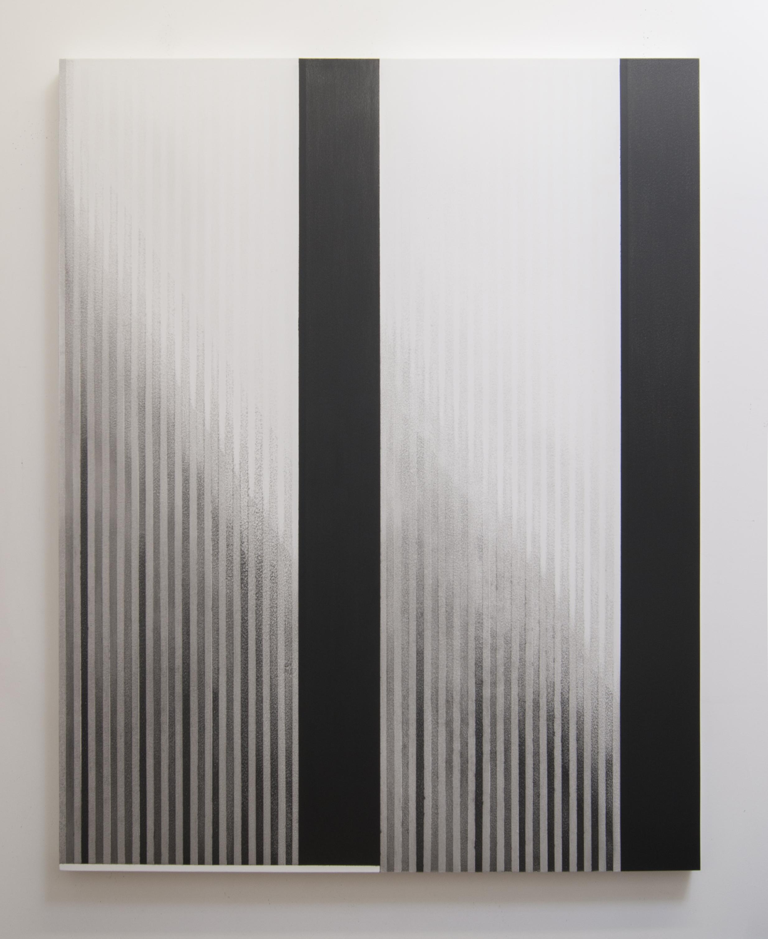 Zero Hour II, 2014  Acrylic on panel, 56 x 44 inches