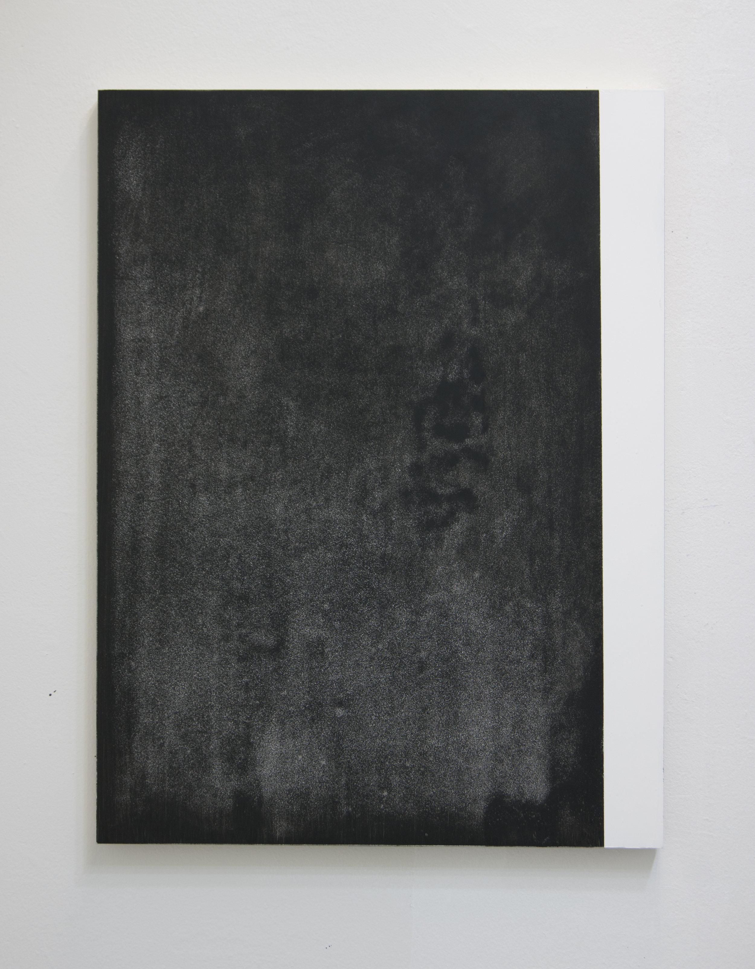 Fugitive II, 2012  Acrylic on panel, 24 x 18 inches