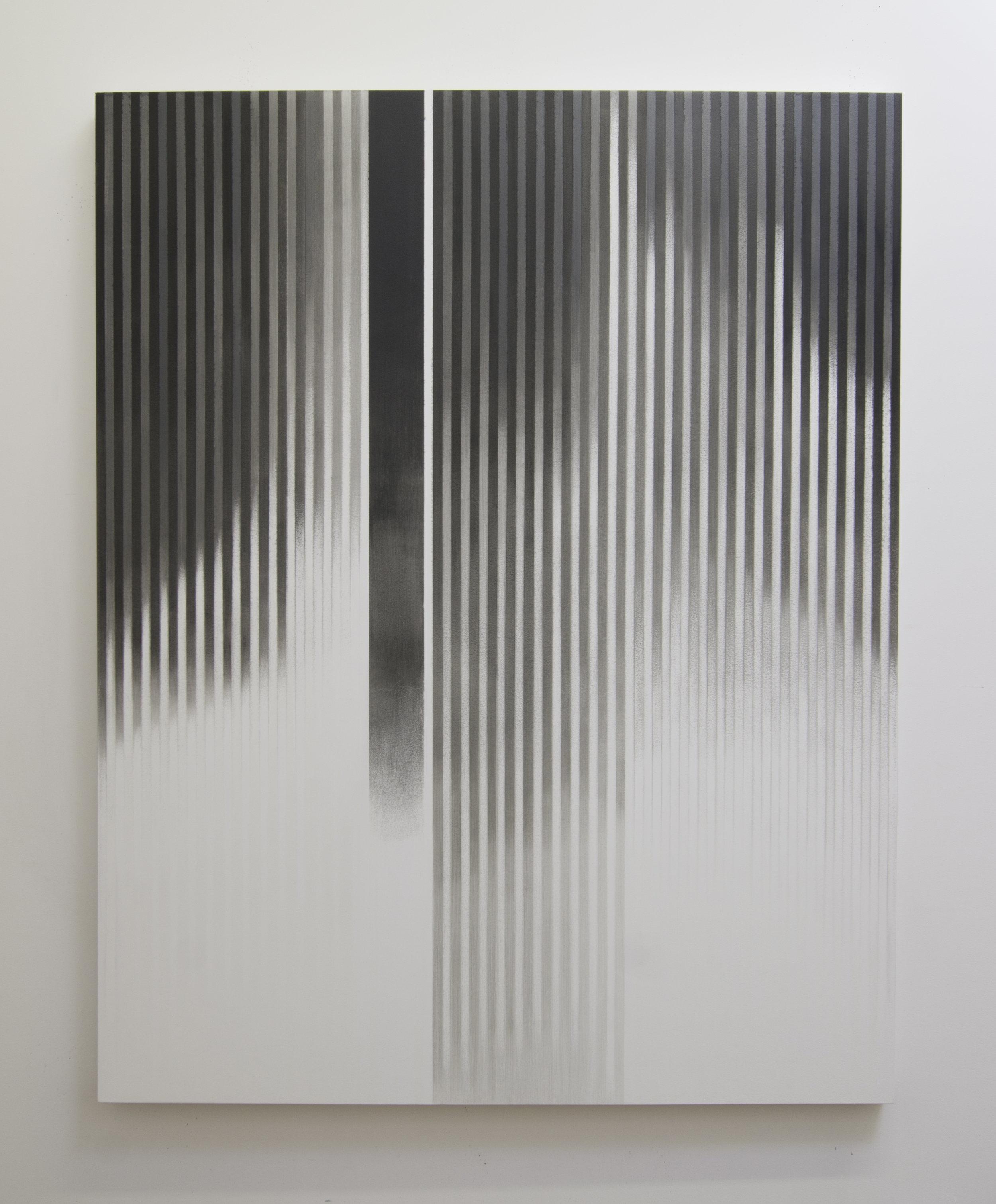 Zero Hour, 2013  Acrylic on panel, 56 x 44 inches