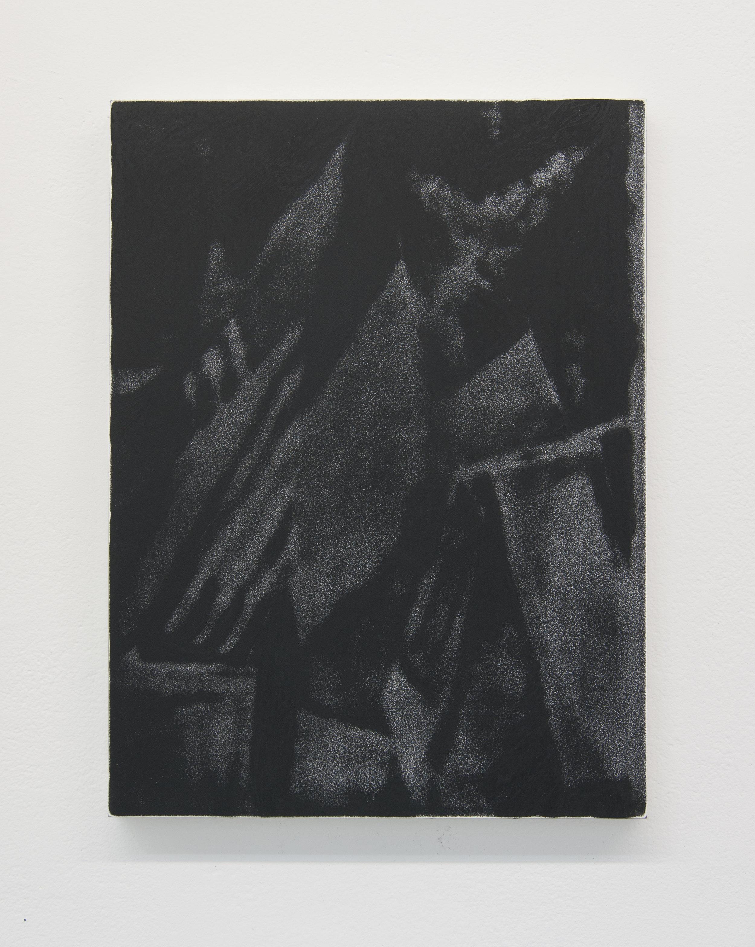 OWS III, 2012  Acrylic on panel, 16 x 12 inches