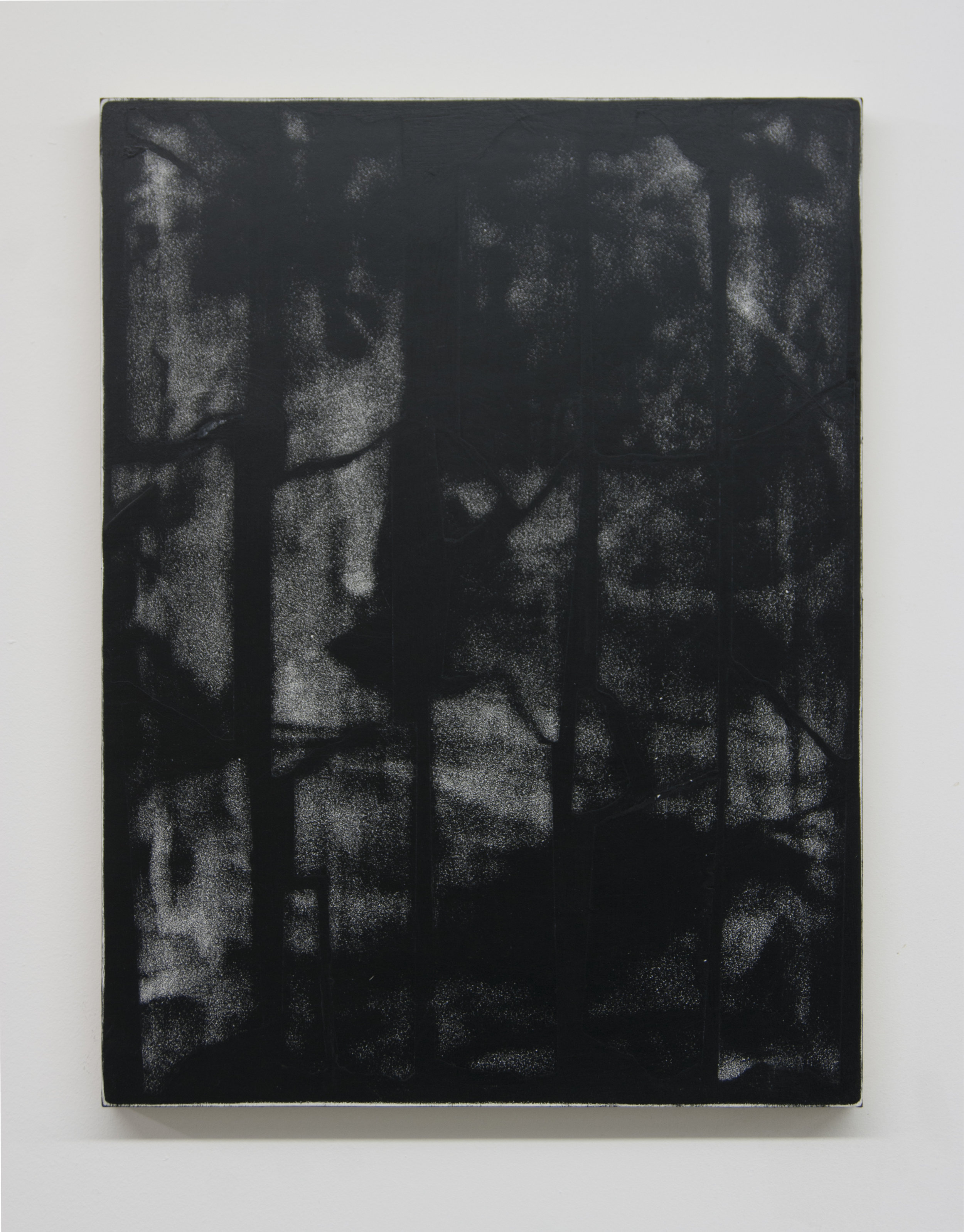 Primal Brain, 2018  Acrylic on panel, 16 x 12 inches