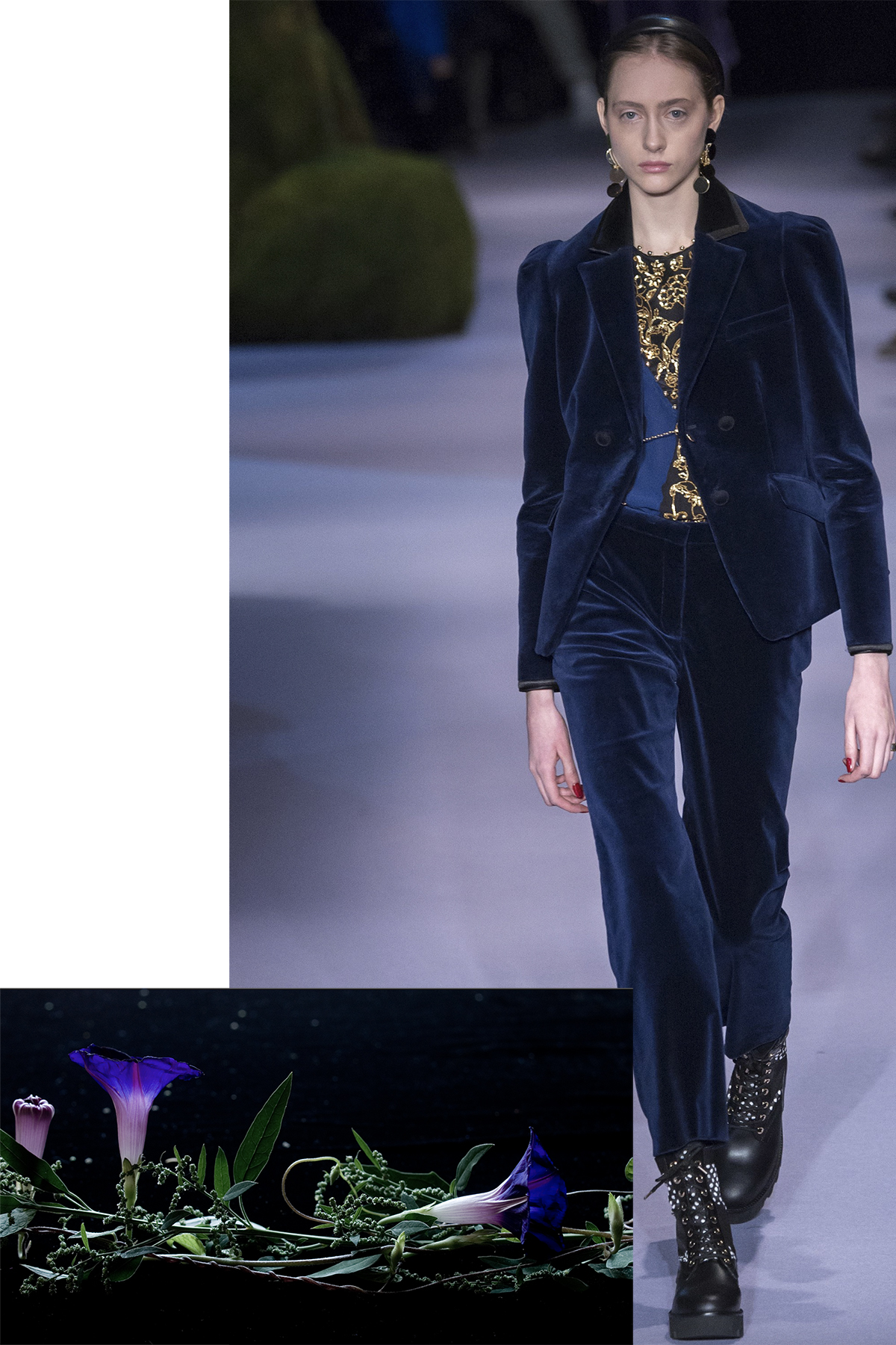 Altuzarra paired with Morning Glory