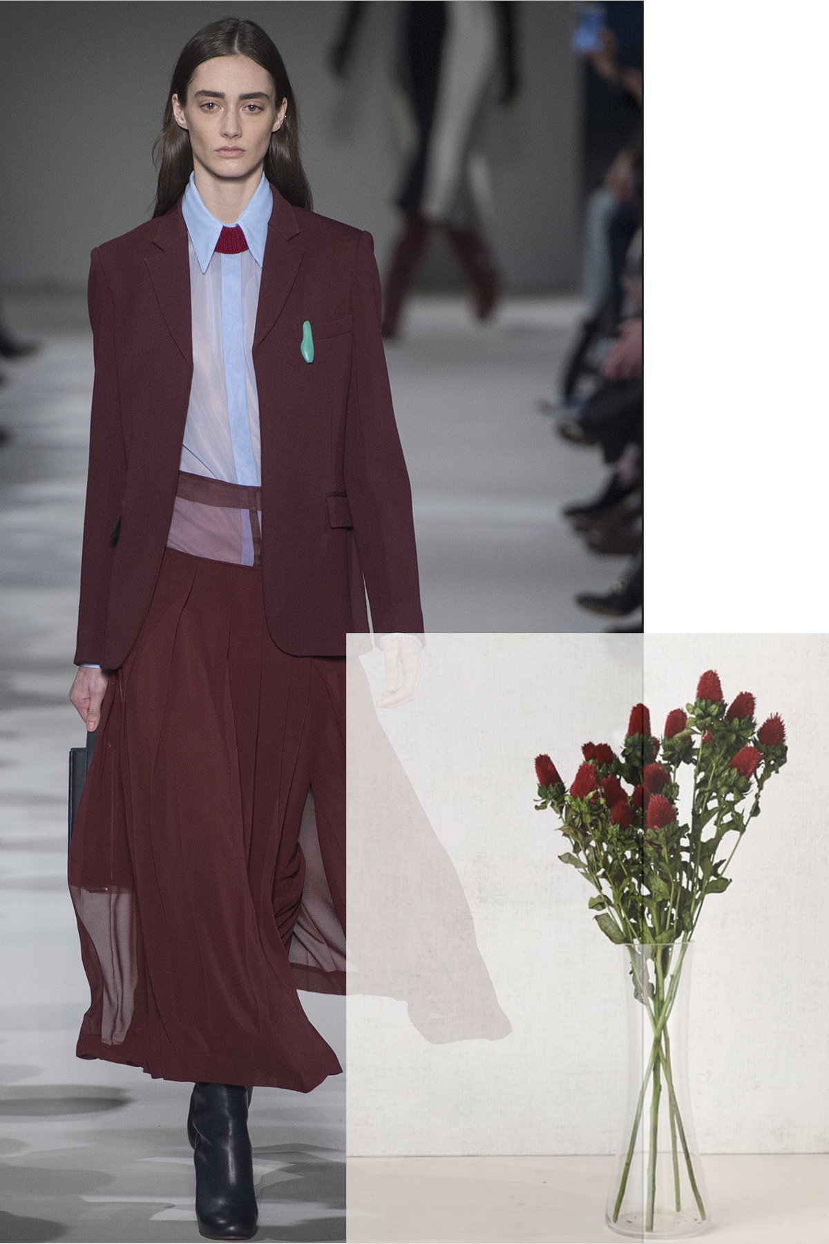 Victoria Beckham paired with Clover
