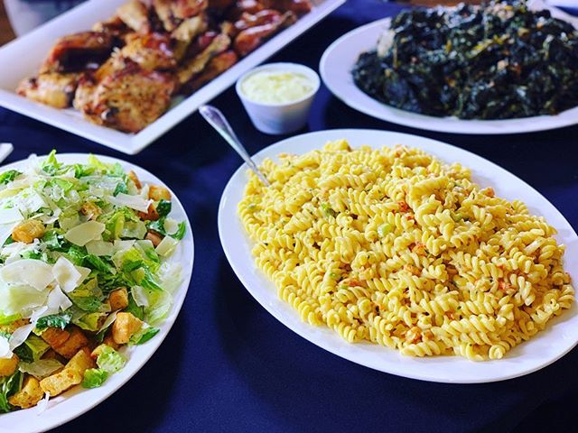 #TheFamilyMeal -Crawfish Pasta, Collard Greens, Herb Baked Chicken, Caesar Salad, Fresh Rolls- #Simplicity . . . #TheFamilyMealPodcast #TheFamilyMealPod #Local #CrawfishPasta #BakedChicken #catering #nolacatering #greens #nolacaterer #FoodPorn #Pasta #crawfish #Chicken #CaesarSalad #CollardGreens #dinnerrolls #nola #yum #yummy #podcast #southern #nolapodcast #NewOrleans #bacon #nolaChef #yum #followyournola